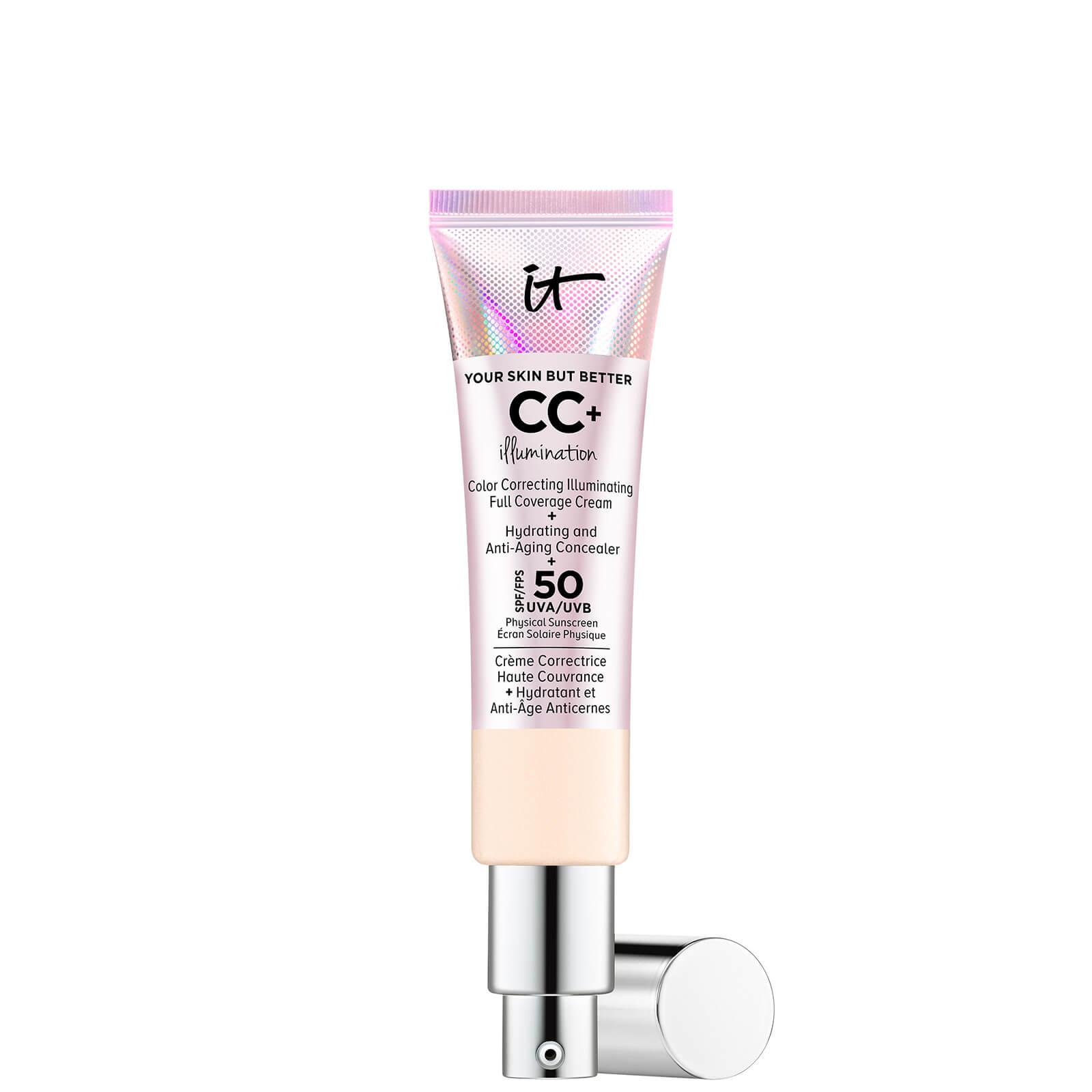 Купить IT Cosmetics Your Skin But Better CC+ Illumination SPF50 32ml (Various Shades) - Fair-Light