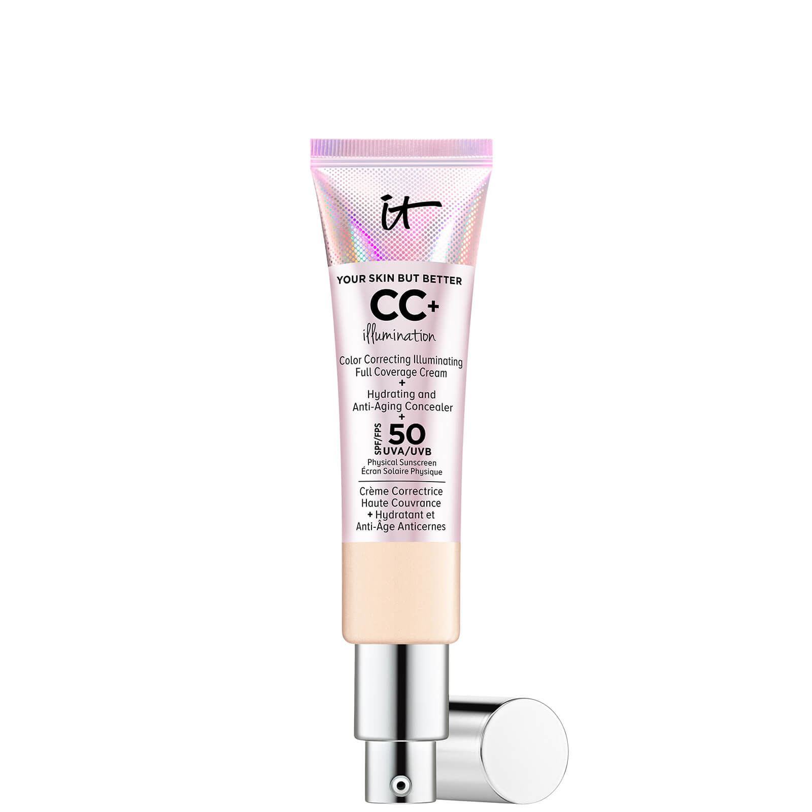 Купить IT Cosmetics Your Skin But Better CC+ Illumination SPF50 32ml (Various Shades) - Light