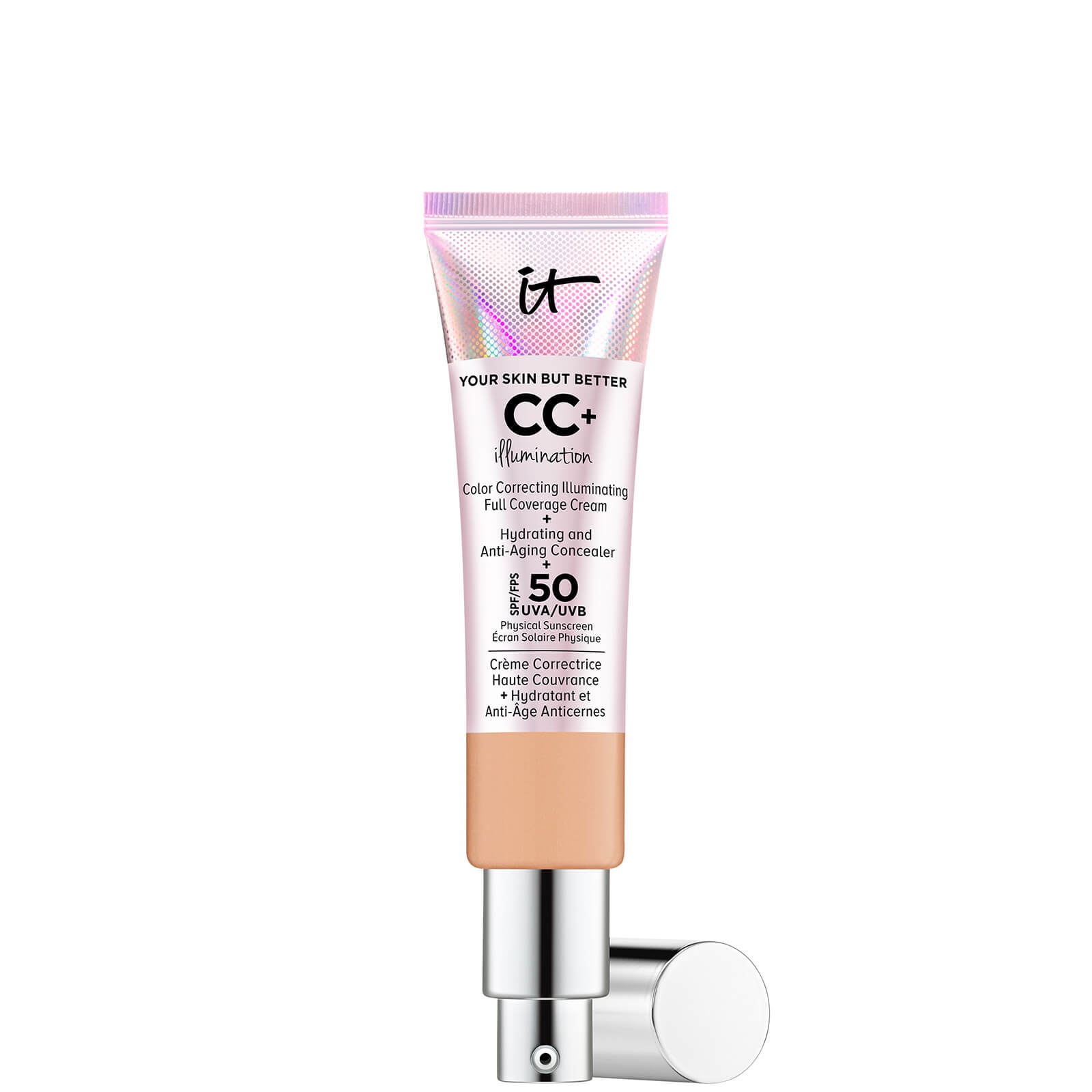 Купить IT Cosmetics Your Skin But Better CC+ Illumination SPF50 32ml (Various Shades) - Medium Tan