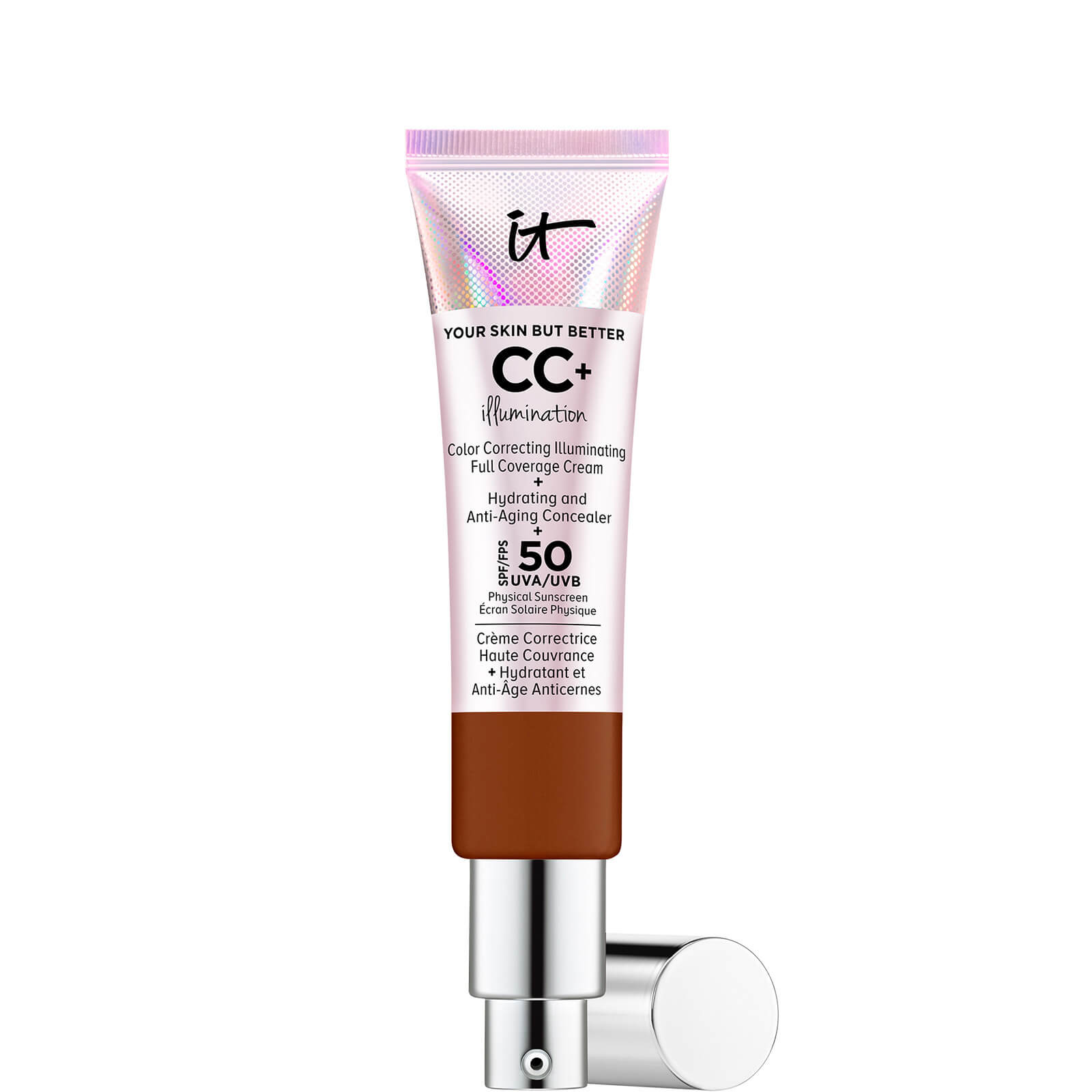Купить IT Cosmetics Your Skin But Better CC+ Illumination SPF50 32ml (Various Shades) - Deep