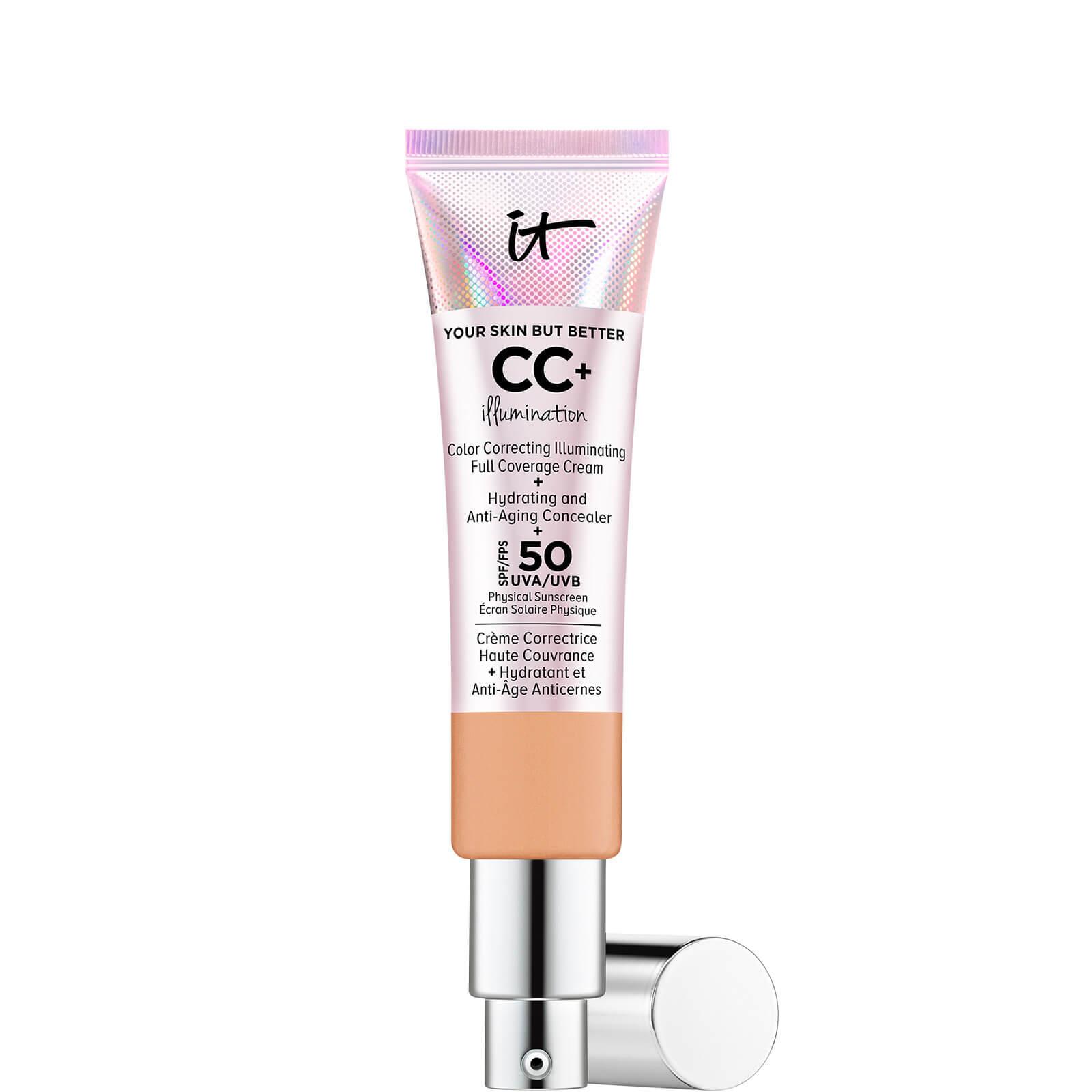 Купить IT Cosmetics Your Skin But Better CC+ Illumination SPF50 32ml (Various Shades) - Neutral Tan