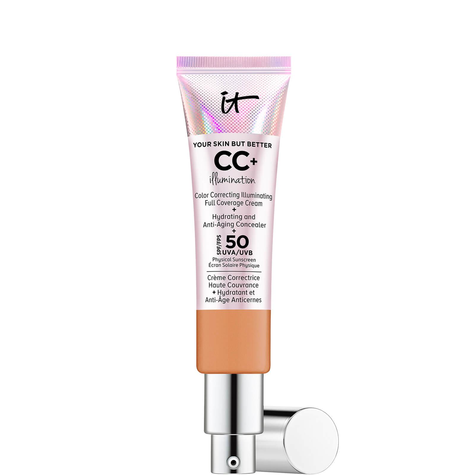 Купить IT Cosmetics Your Skin But Better CC+ Illumination SPF50 32ml (Various Shades) - Tan