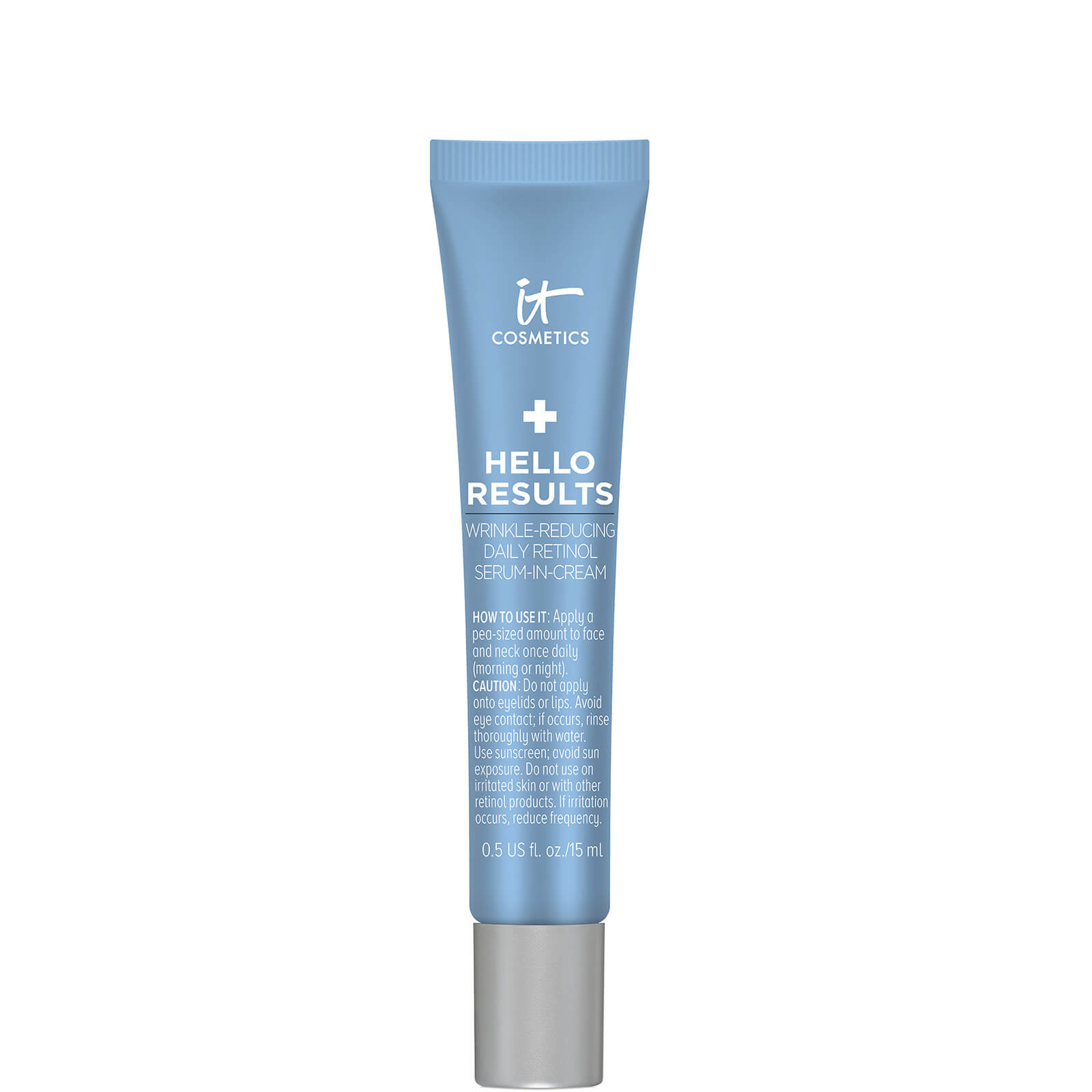 IT Cosmetics Hello Results Wrinkle-Reducing Daily Retinol Cream (Various Sizes) - 15ml