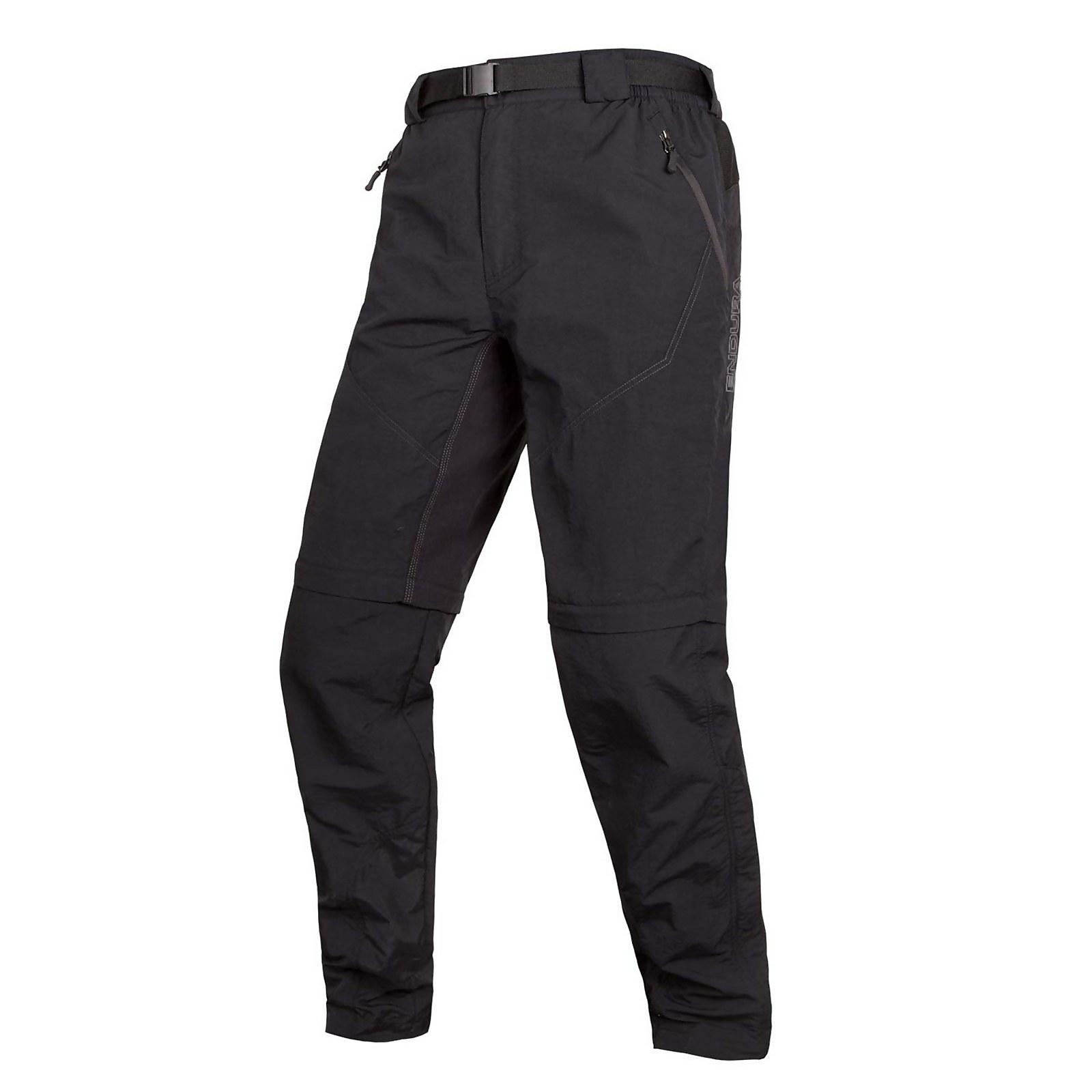 Hummvee Zip-off Trouser Ii - Black - M