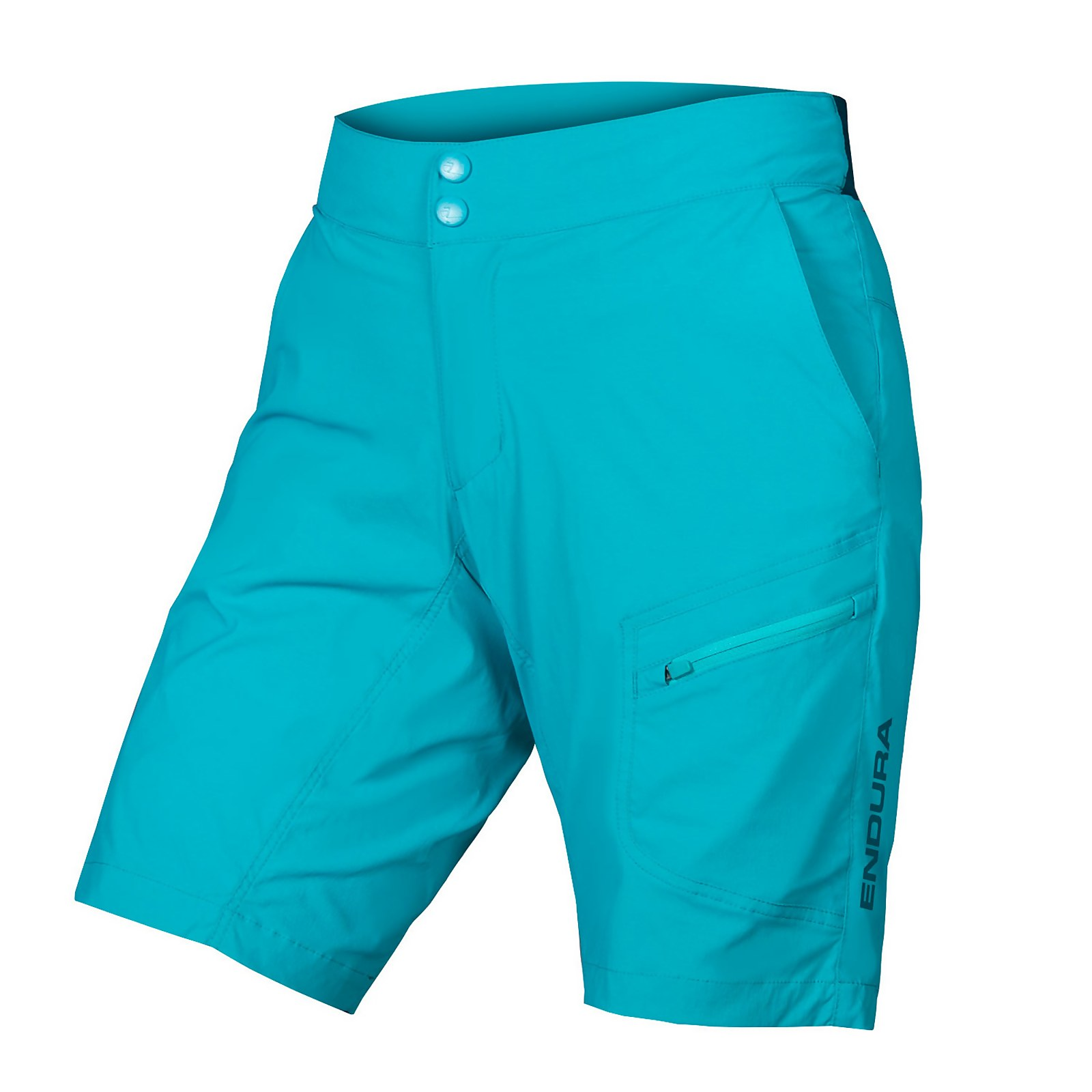 Womens Hummvee Lite Short With Liner - Pacific Blue - L