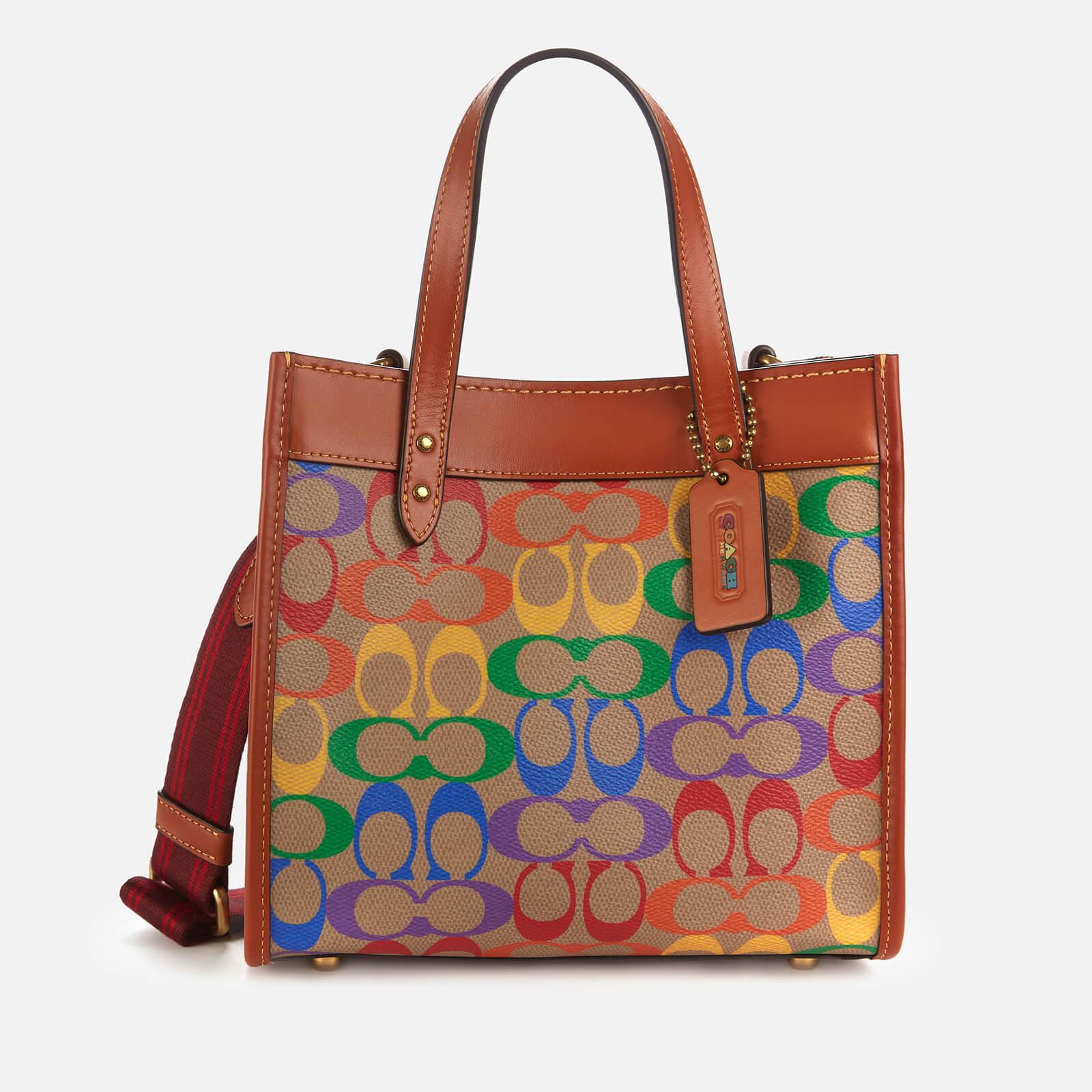 Coach Women's Pride Signature Field Tote Bag 22 - Multi