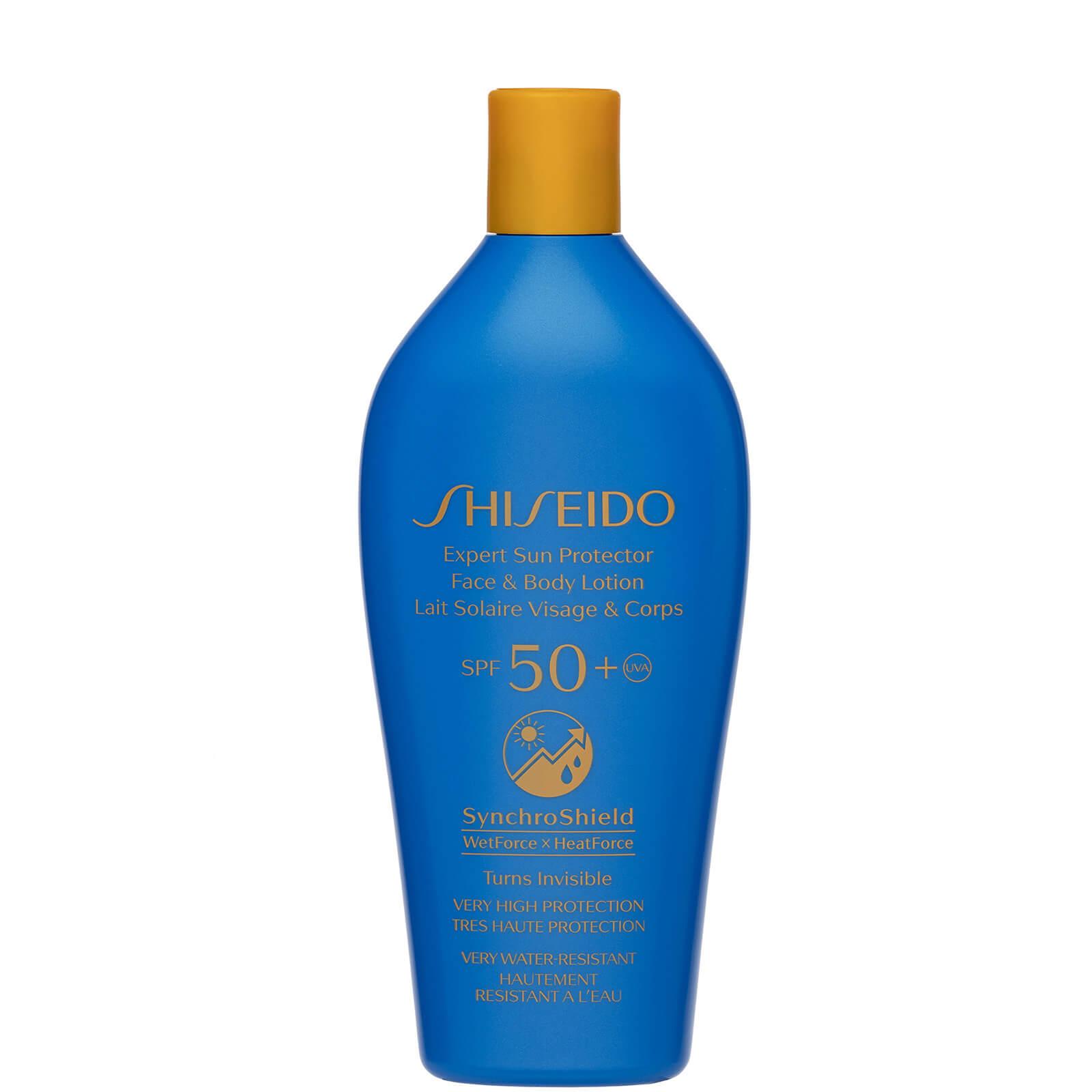 Купить Лосьон для лица и тела Shiseido Expert Sun Protector SPF50 + 300 мл