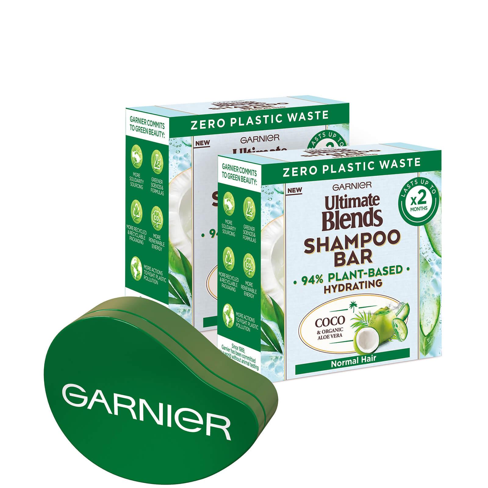 Garnier Ultimate Blends Coconut Shampoo Bar Bundle