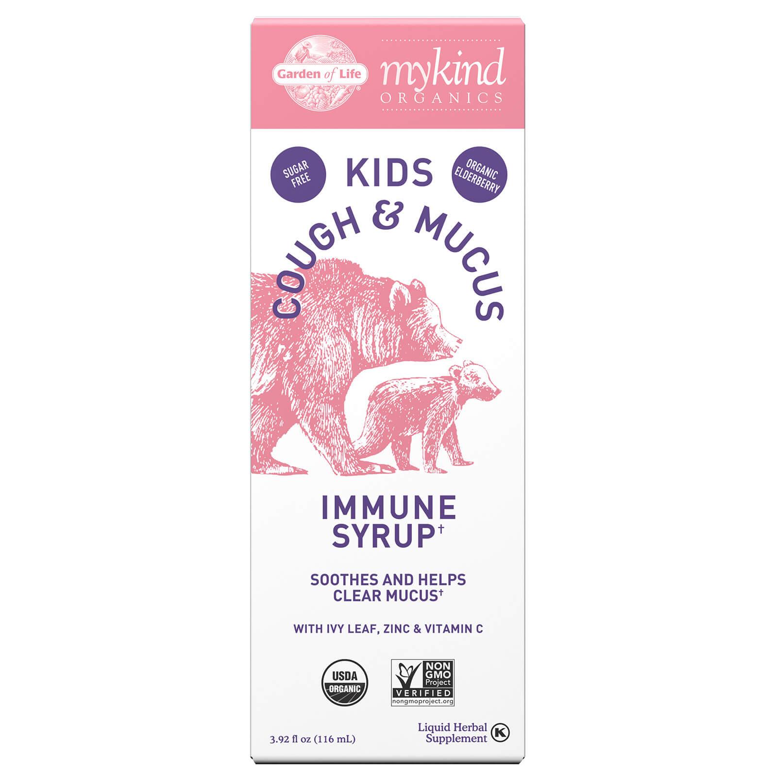 Mykind Organics Kids Vlierbessen & Slaap immuunsiroop - 116 ml