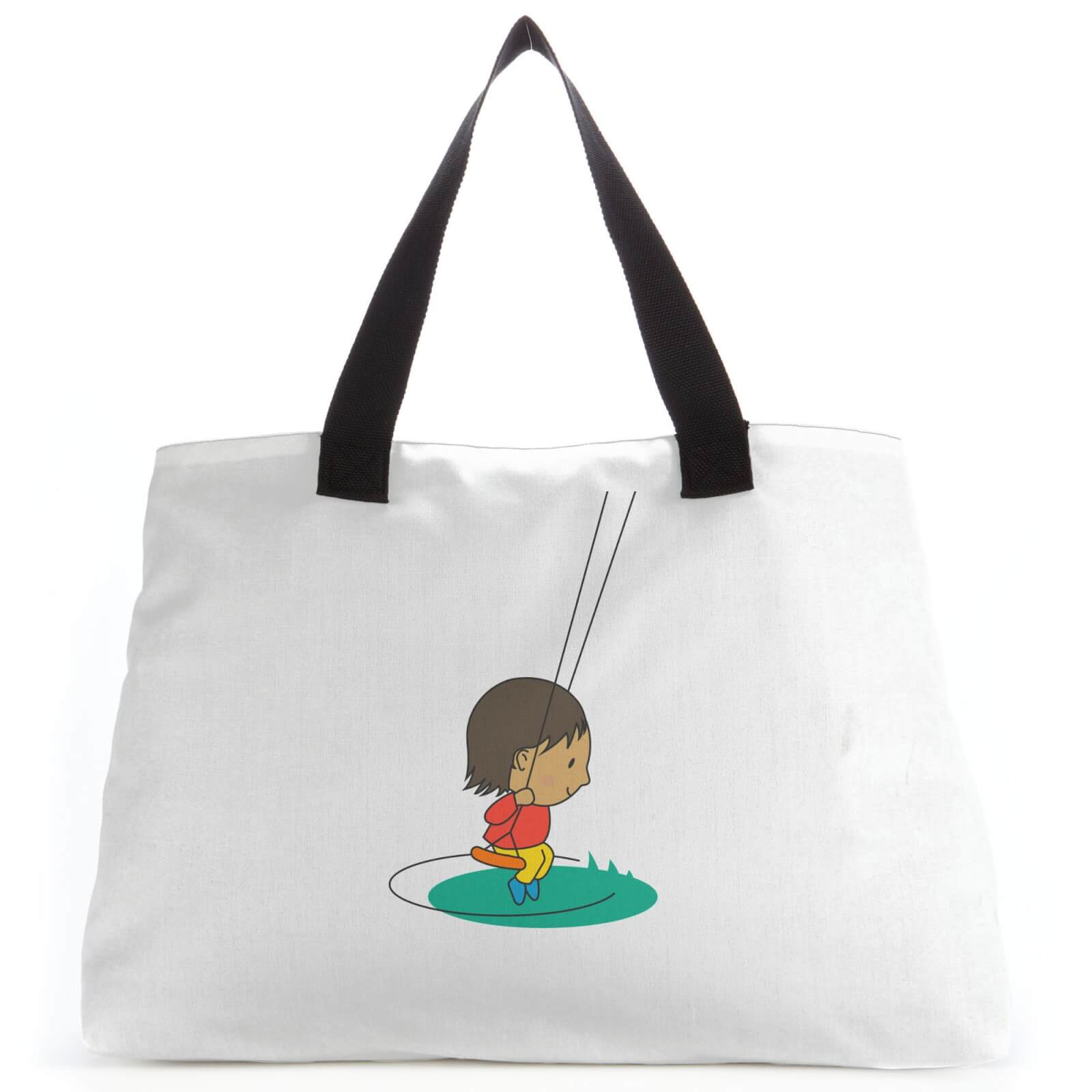 Swing Boy Tote Bag