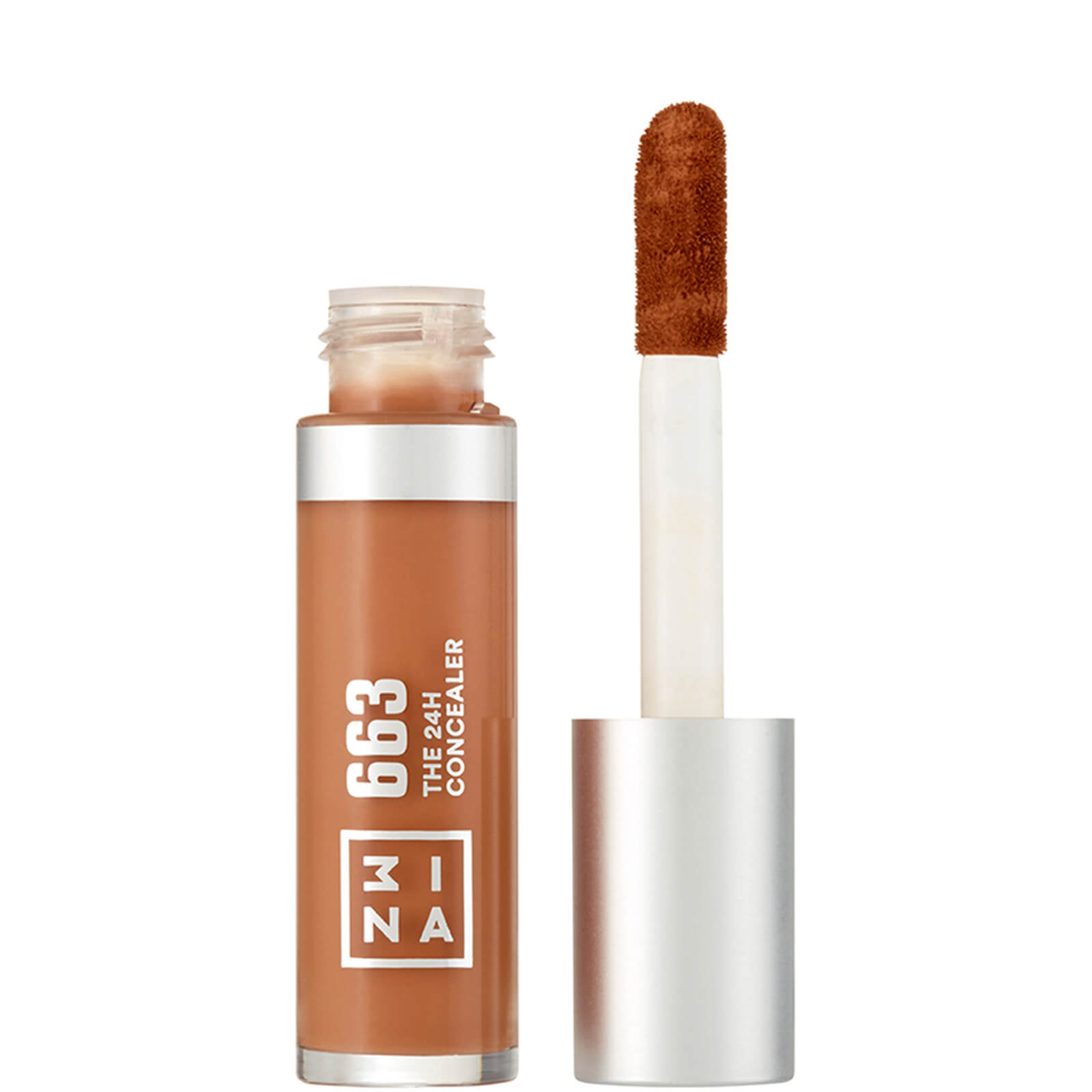 3INA Makeup The 24 Hour Concealer 28ml (Various Shades) - 663 Brown