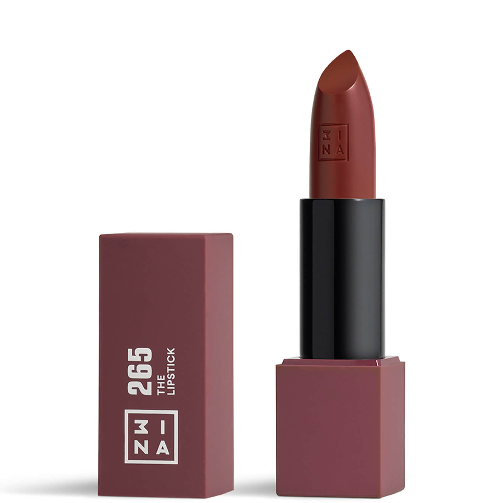 Купить 3INA Makeup The Lipstick 18g (Various Shades) - 265 Purplish Brown