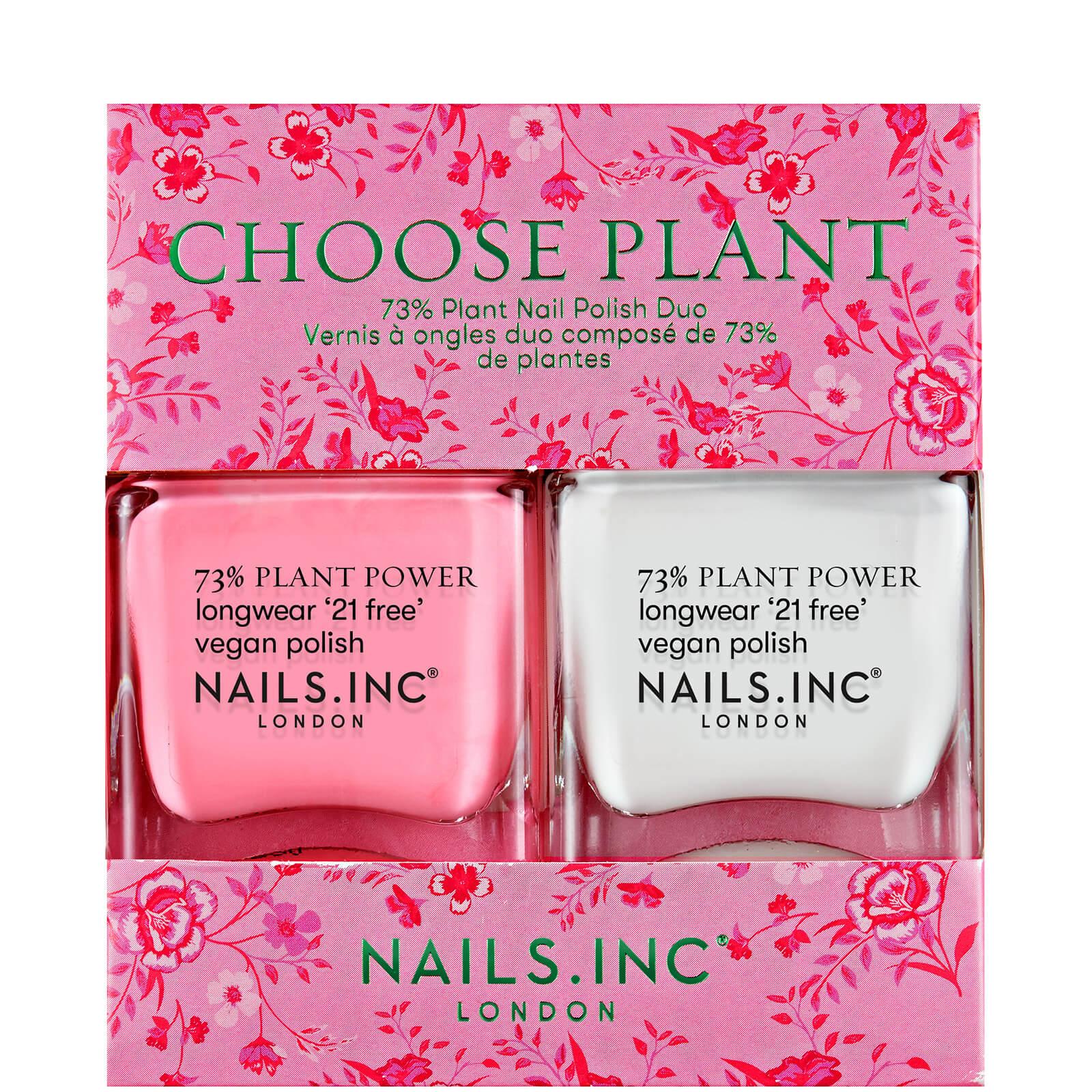Купить Nails inc. Дуэт Выберите цветок