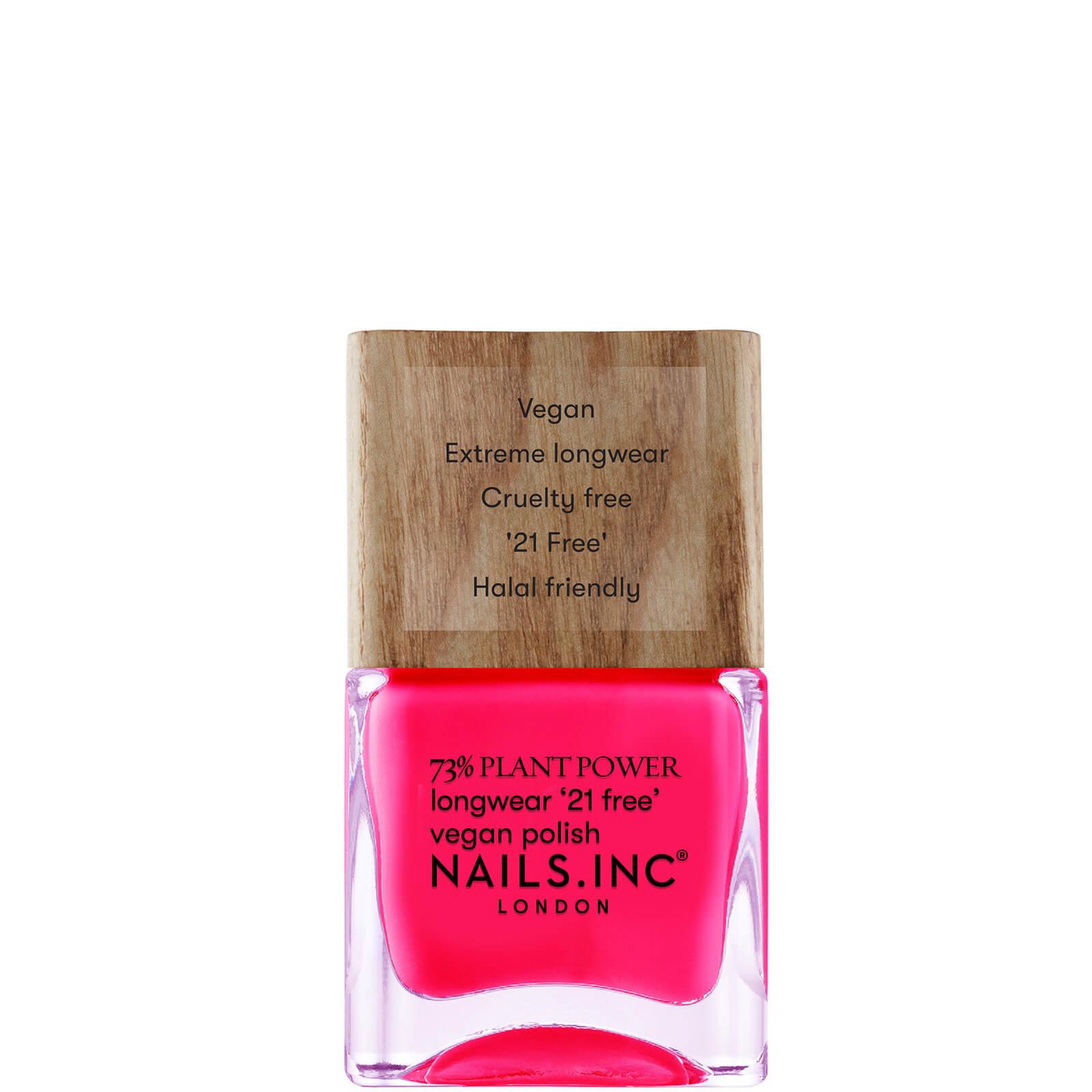 nails inc. 73% Plant Power Nail Varnish - and Breathe 14ml