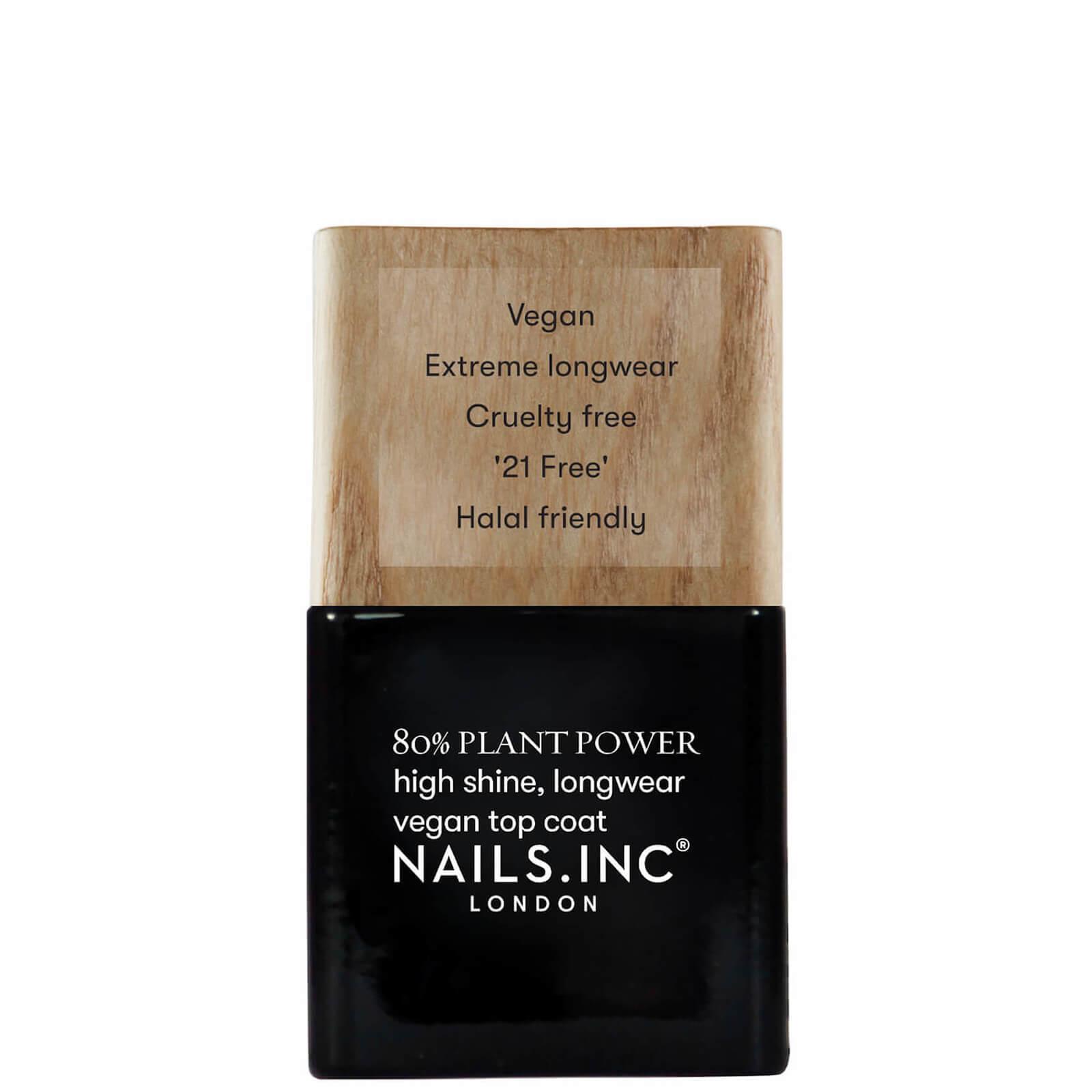 Купить Nails inc. Лак для ногтей Сила Растений Топовое покрытие 14 мл