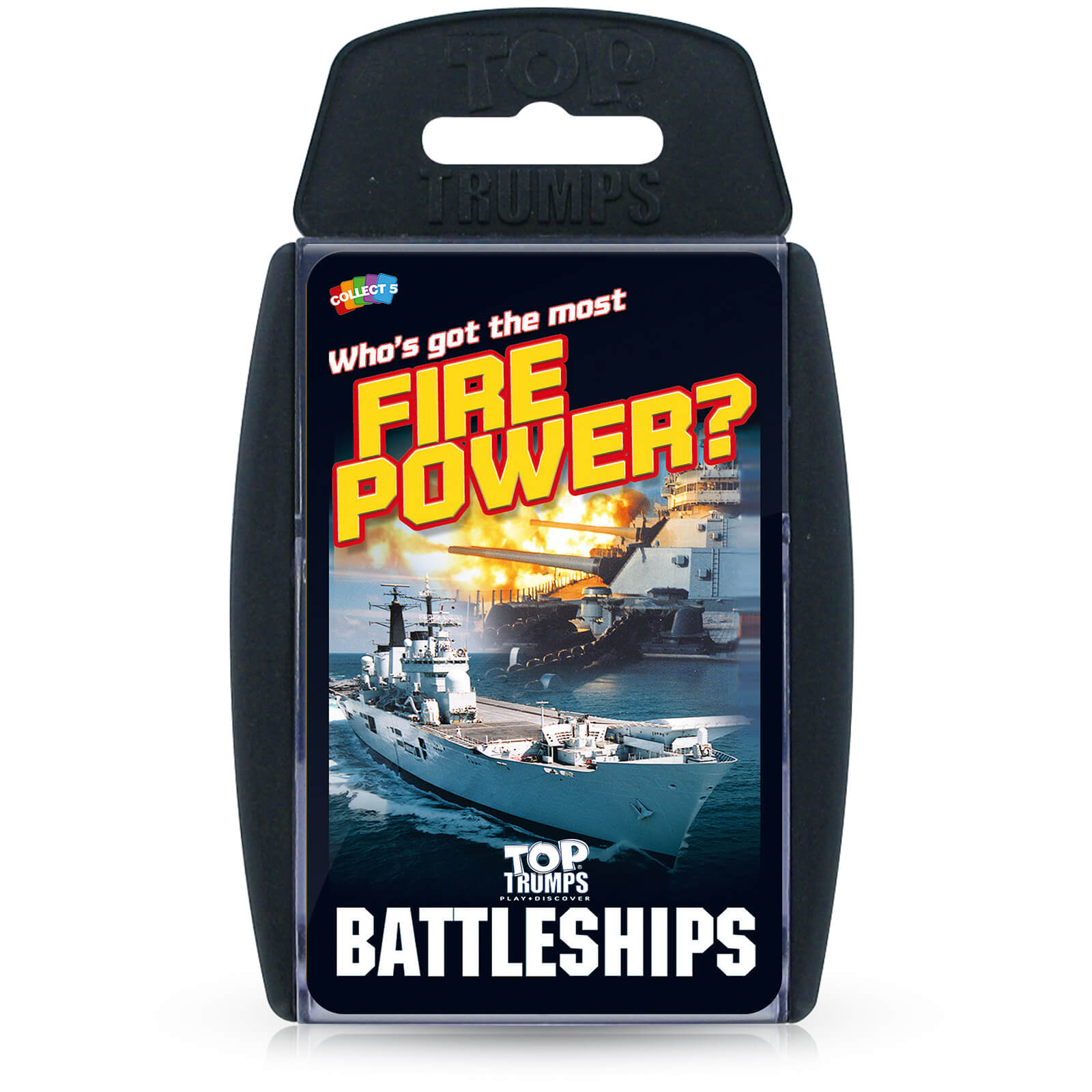 Image of Top Trumps Card Game - Battleships Edition