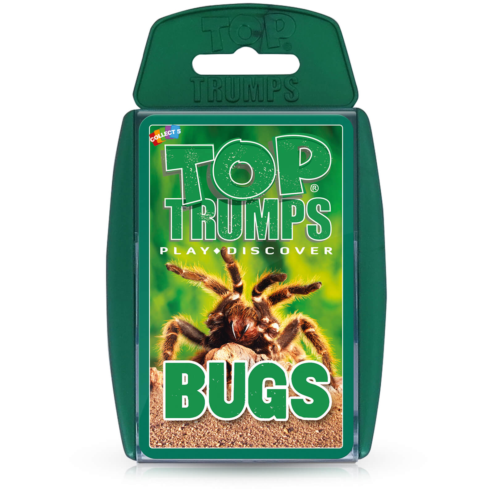 Image of Top Trumps Card Game - Bugs Edition