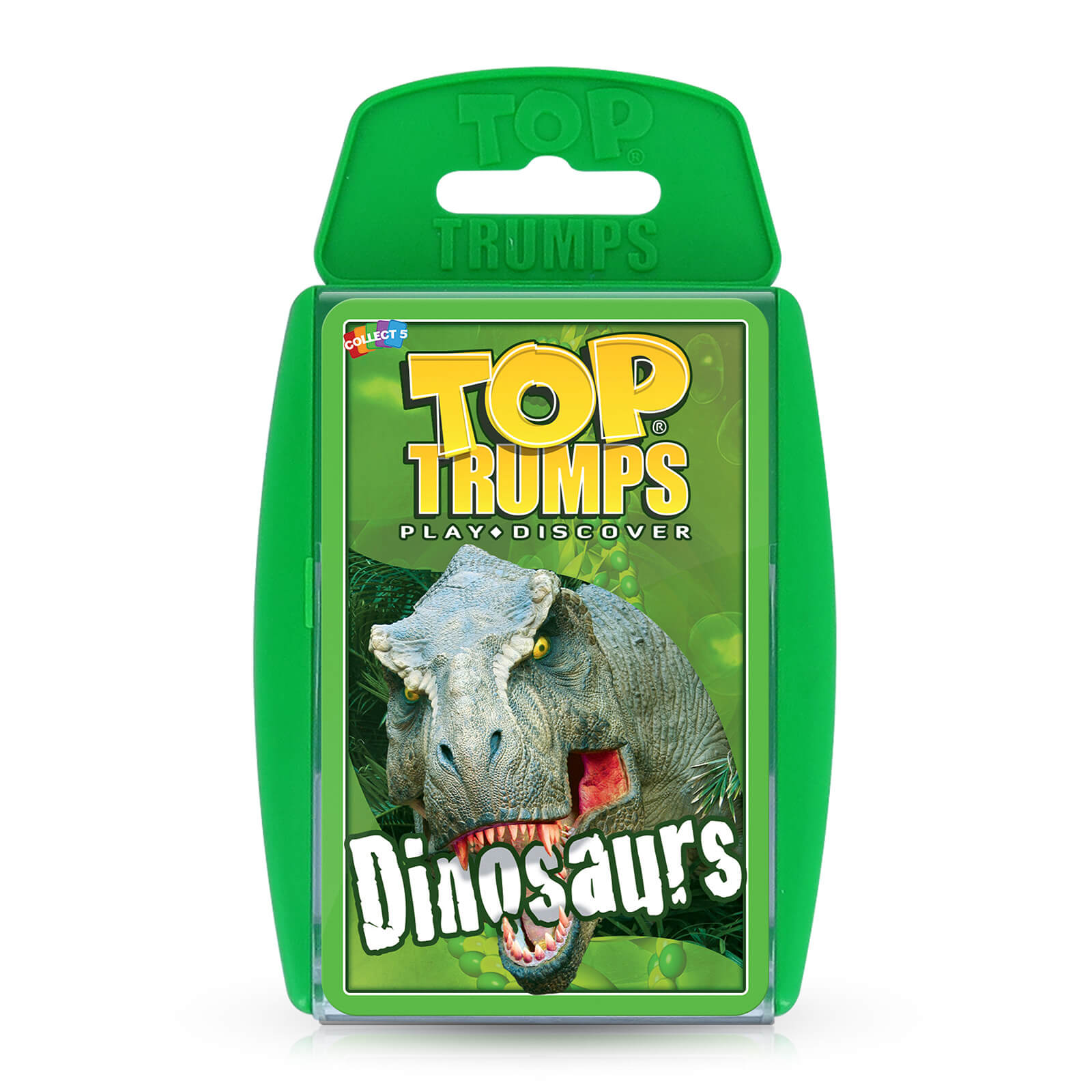 Image of Top Trumps Card Game - Dinosaurs Edition