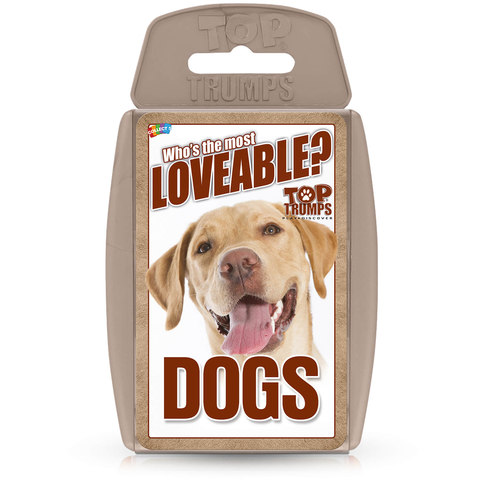 Image of Top Trumps Card Game - Dogs Edition