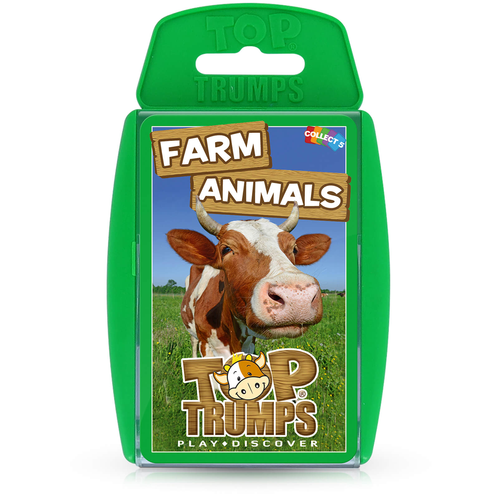 Image of Top Trumps Card Game - Farm Animals Edition