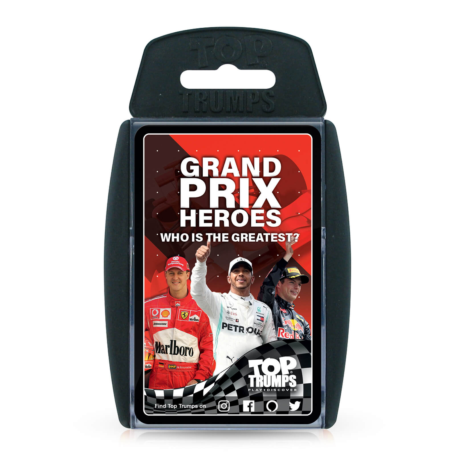 Image of Top Trumps Card Game - Grand Prix Edition