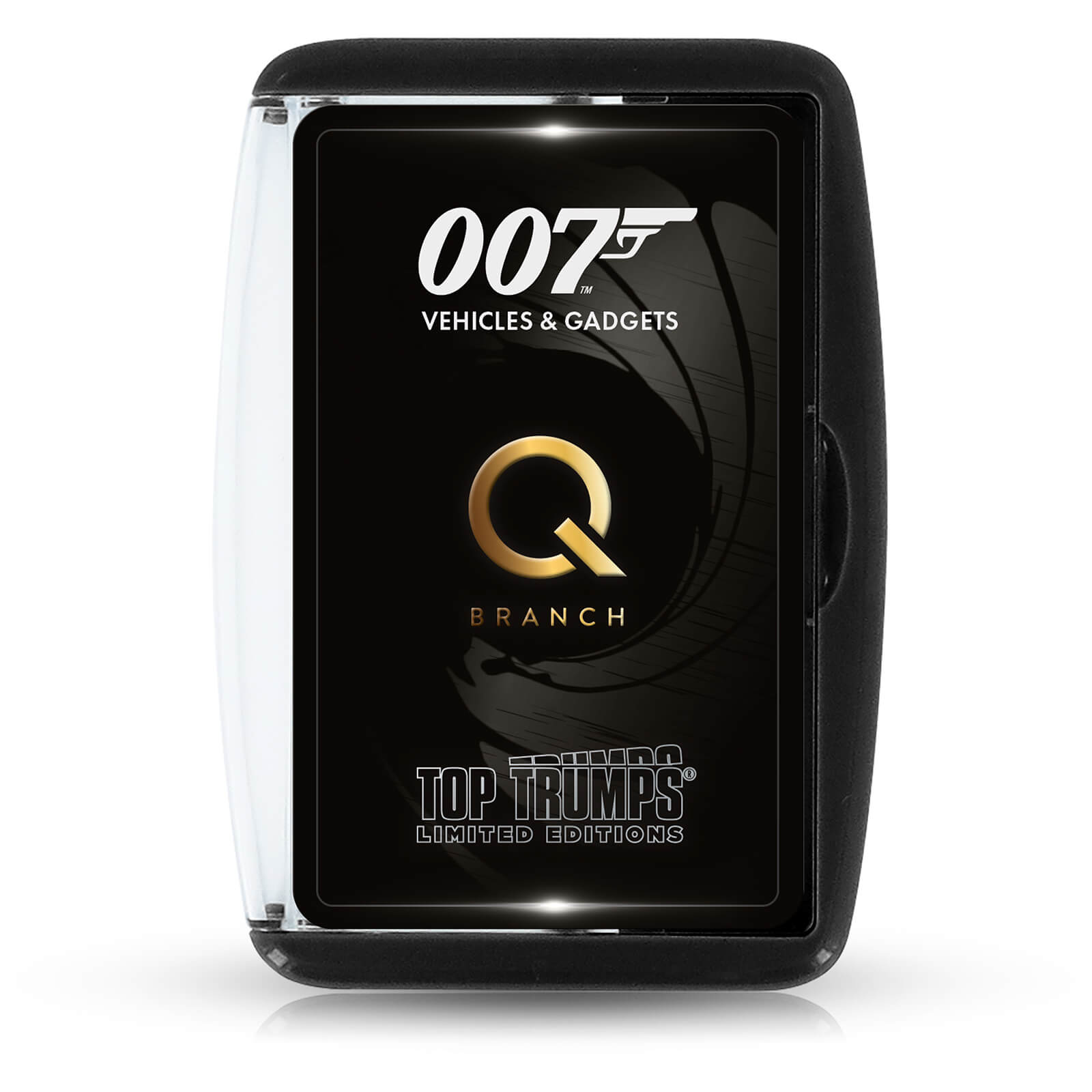 Image of James Bond Gadgets and Vehicles (Q Branch) Limited Edition Top Trumps Card Game