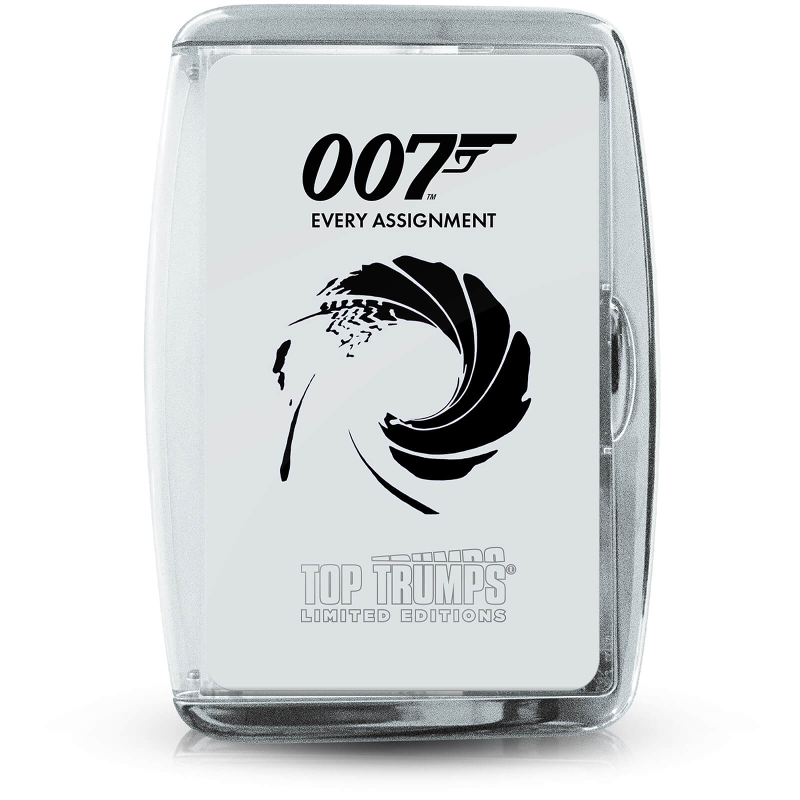 Image of Top Trumps Card Game - James Bond Every Assignment Edition