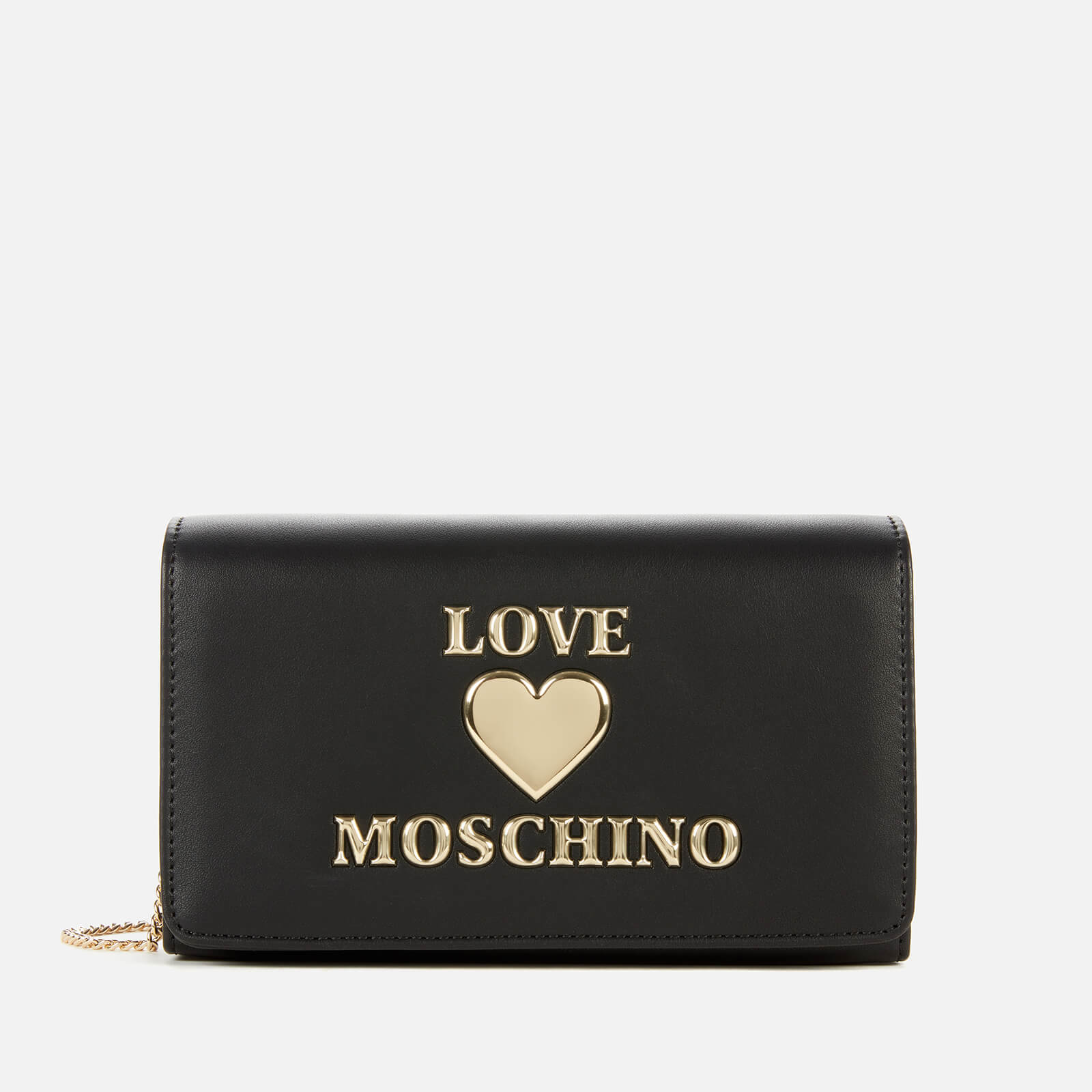 Love Moschino Women's Love Chain Cross Body Bag - Black