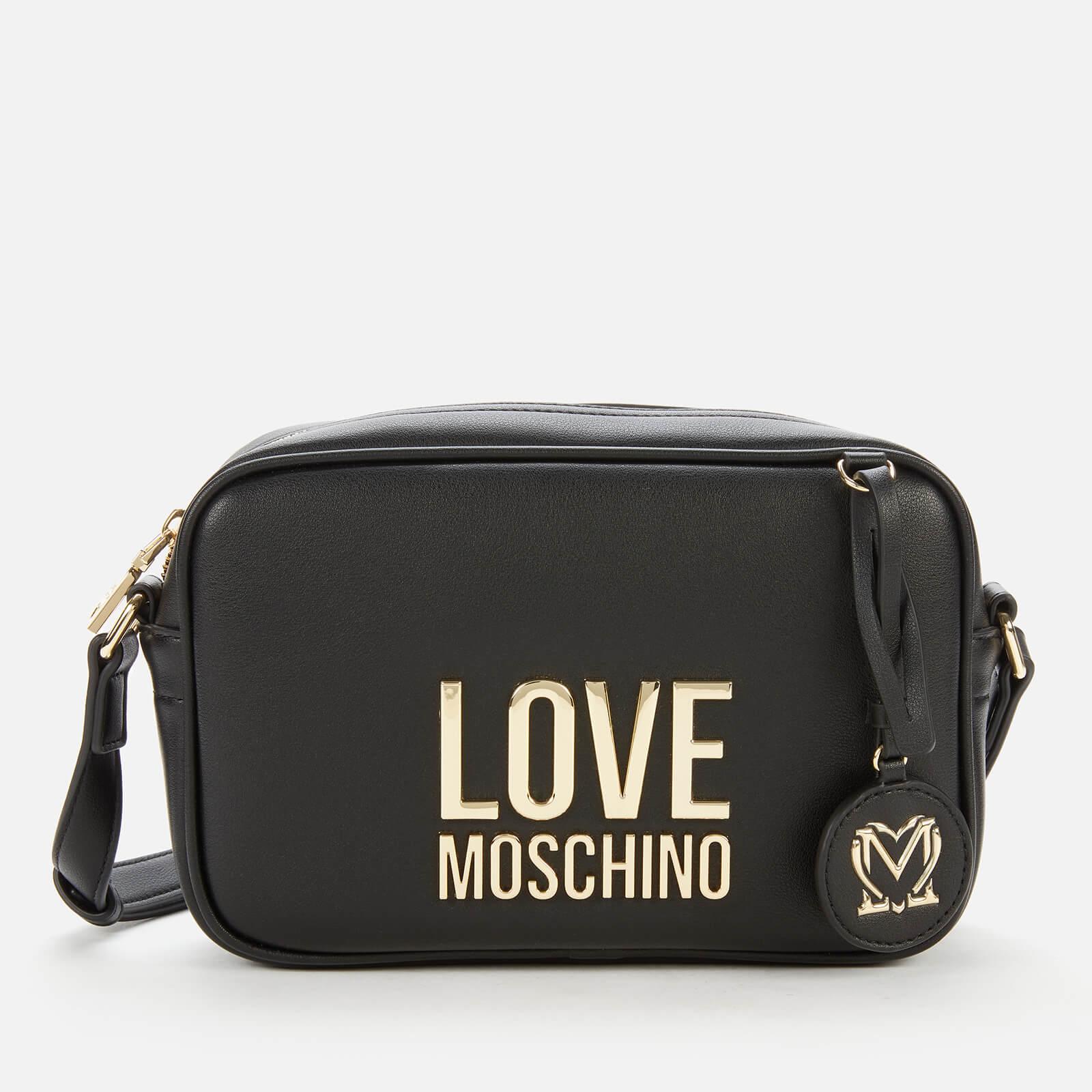 Love Moschino Women's Logo Camera Bag - Black