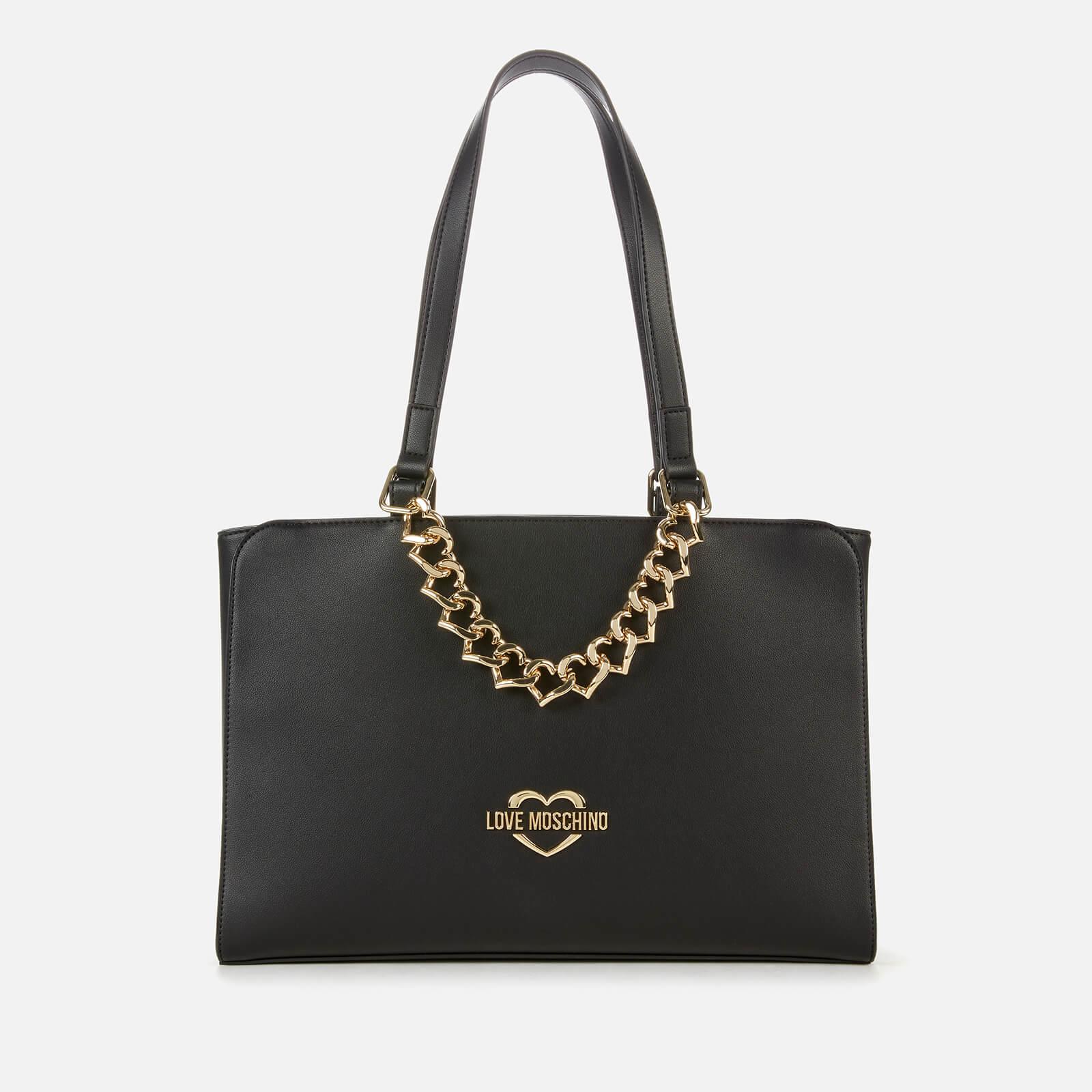 Love Moschino Women's Chain Tote Bag - Black
