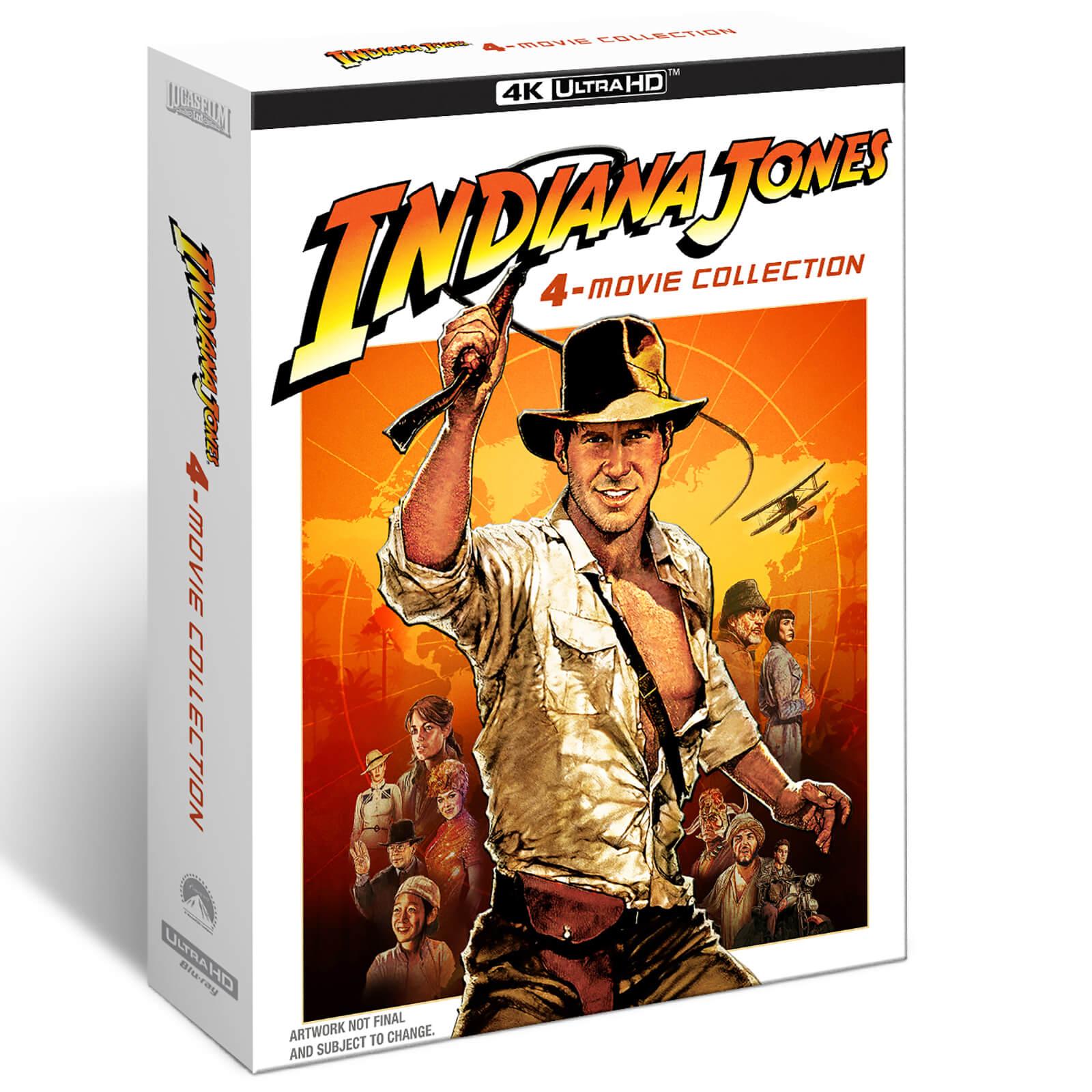 Indiana Jones: 4-Movie Collection 4K Ultra HD & Blu-Ray