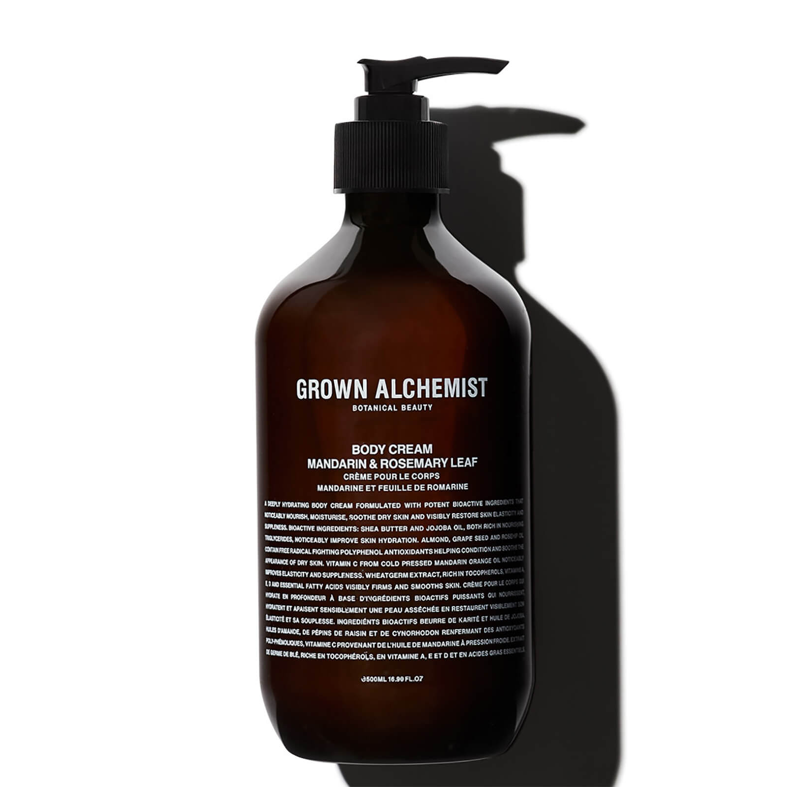 Купить Grown Alchemist Body Cream - Mandarin, Rosemary Leaf 500ml