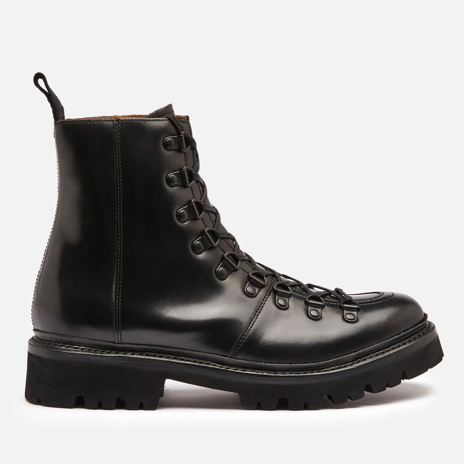 Grenson Women's Nanette Leather Hiking Style Boots - Black - Uk 3