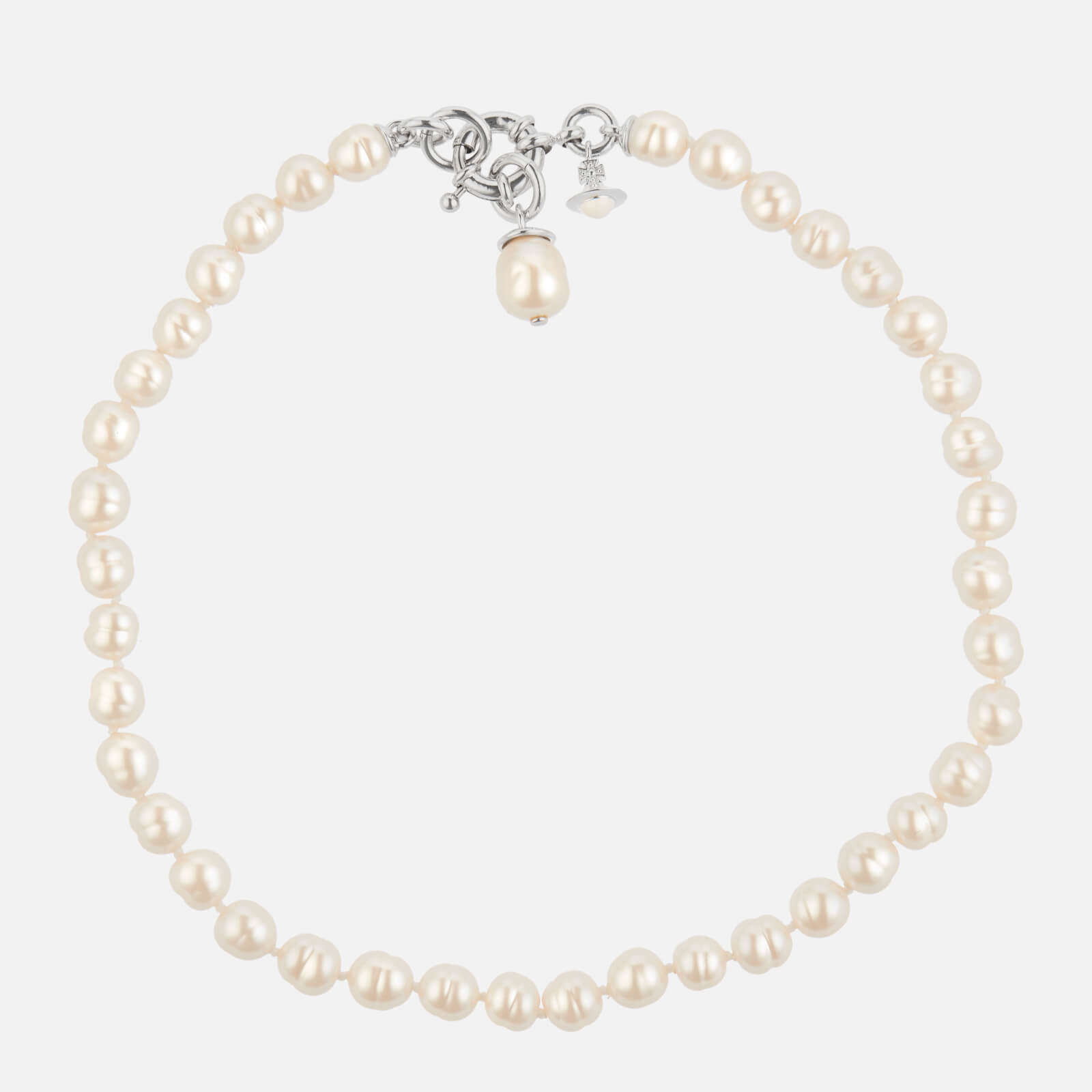 Vivienne Westwood Women's Marella Necklace - Rhodium Pearl