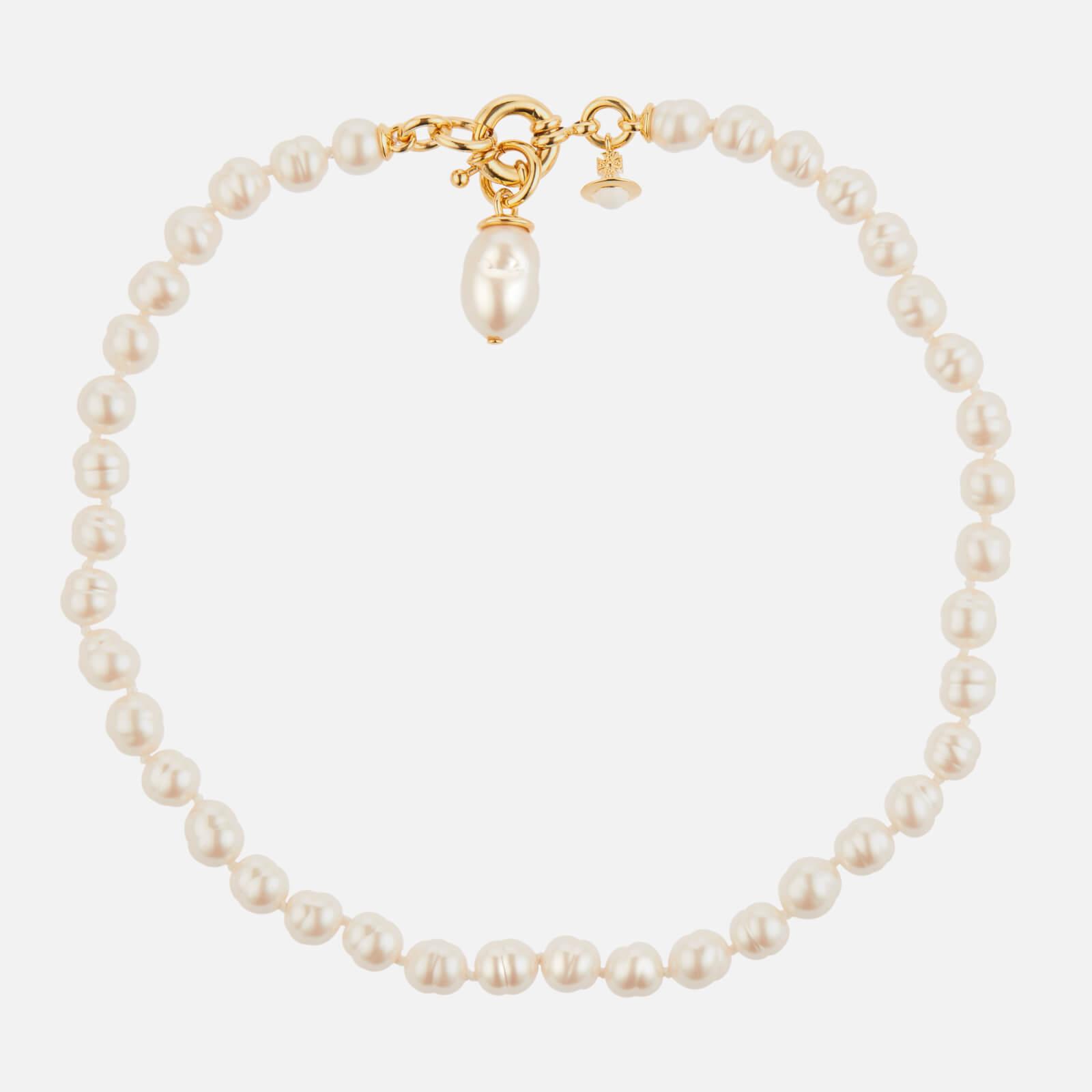 Vivienne Westwood Women's Marella Necklace - Gold Pearl