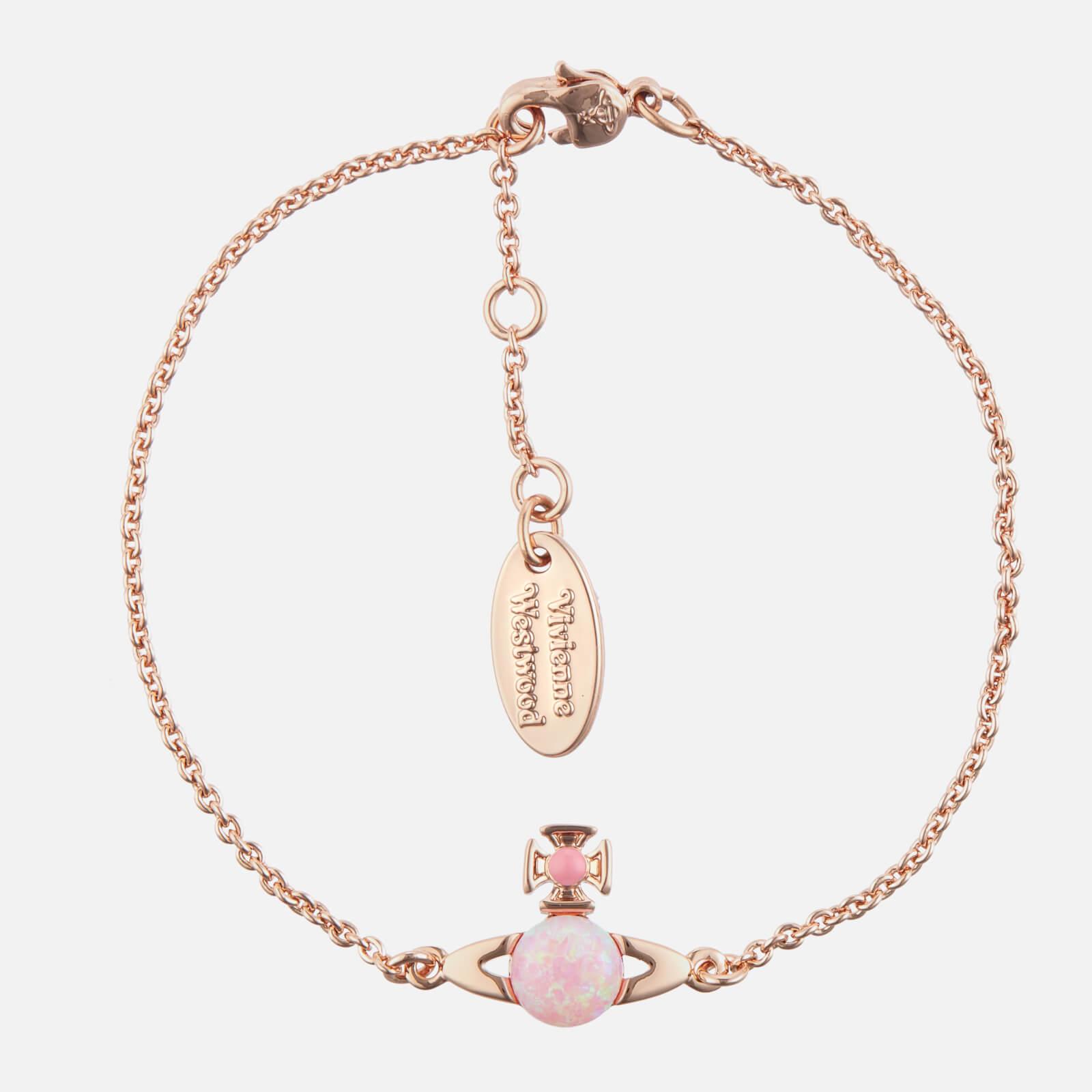 Vivienne Westwood Women's Isabelitta Bas Relief Bracelet - Pink Gold Pink Pink