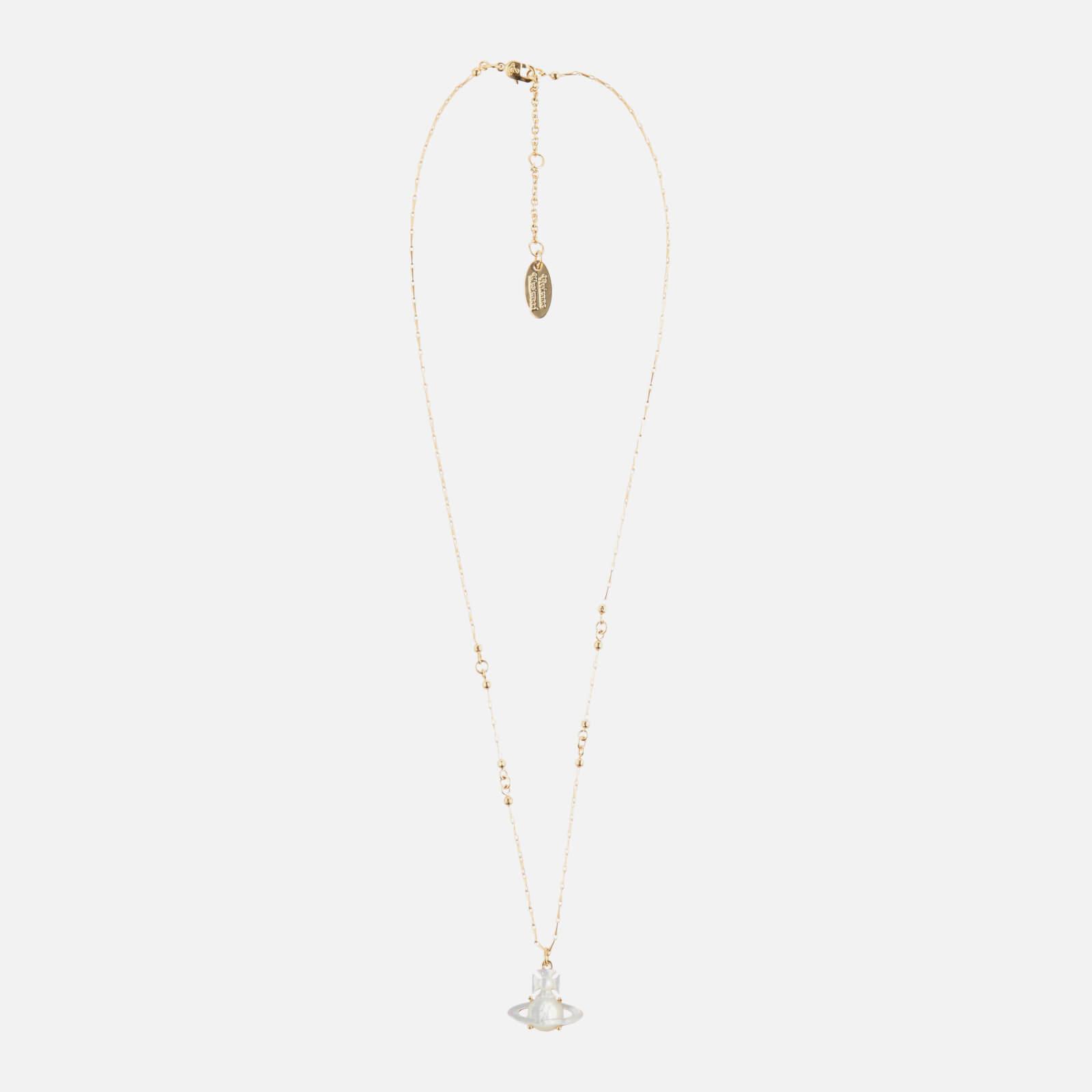 Vivienne Westwood Women's Yalitza Pendant - Gold White
