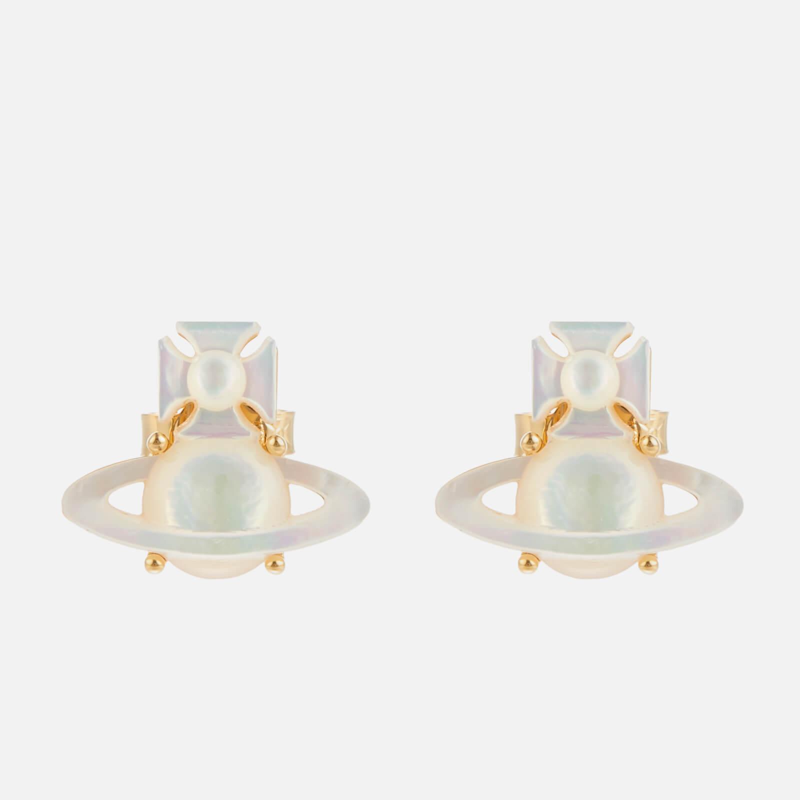 Vivienne Westwood Women's Yalitza Earrings - Gold White