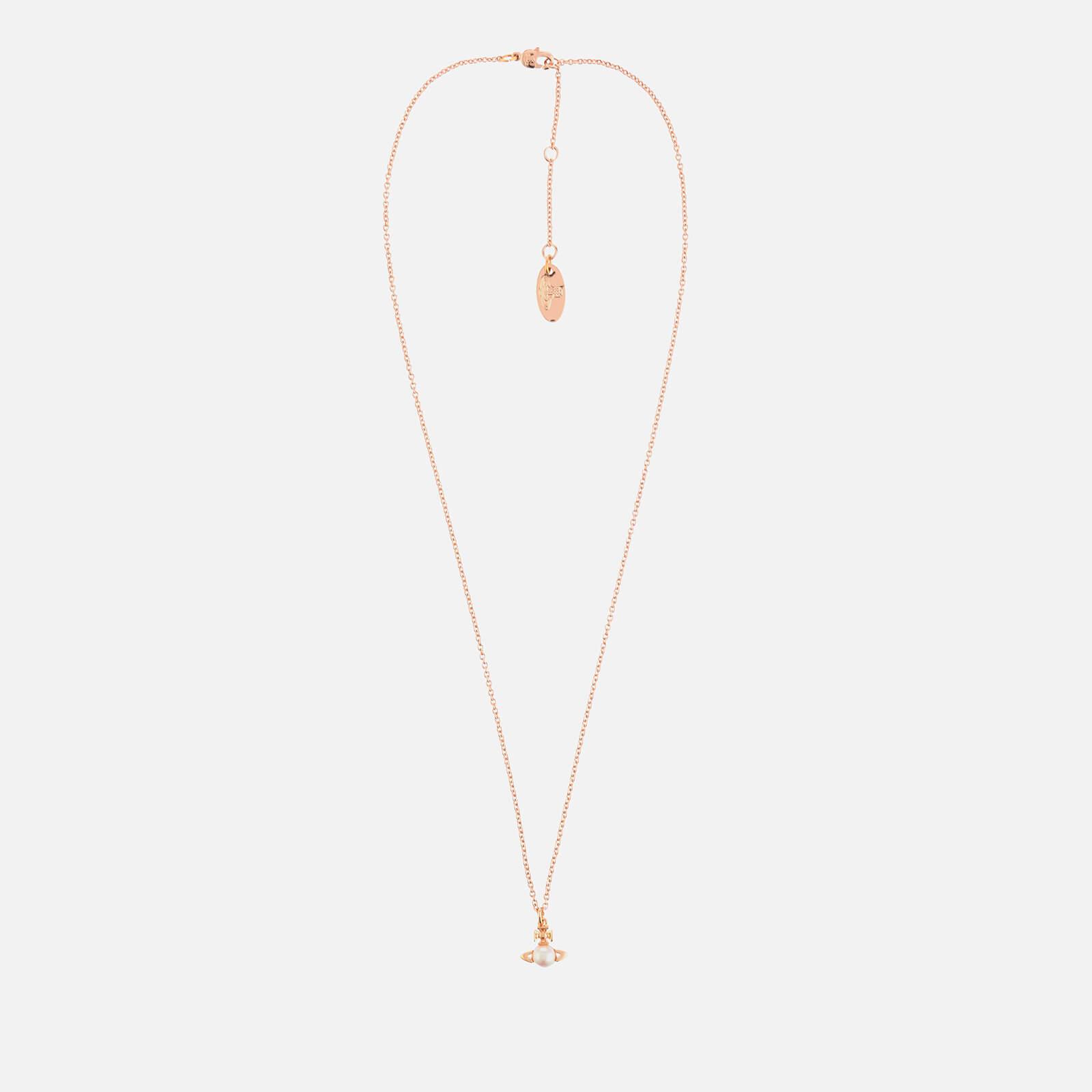 Vivienne Westwood Women's Balbina Pendant - Pink Gold Cream Pearl