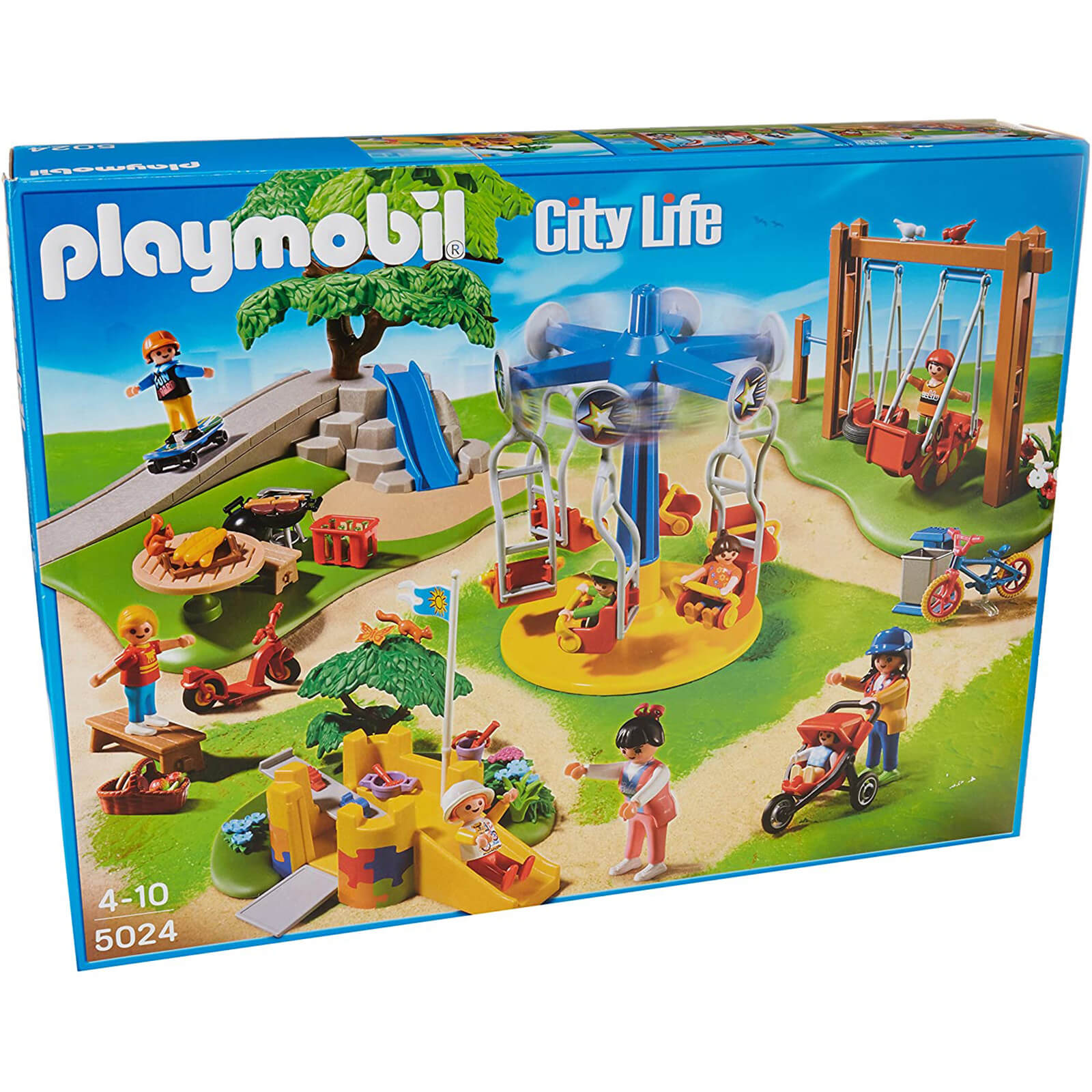 Playmobil City Life - Childrens Playground (5024)