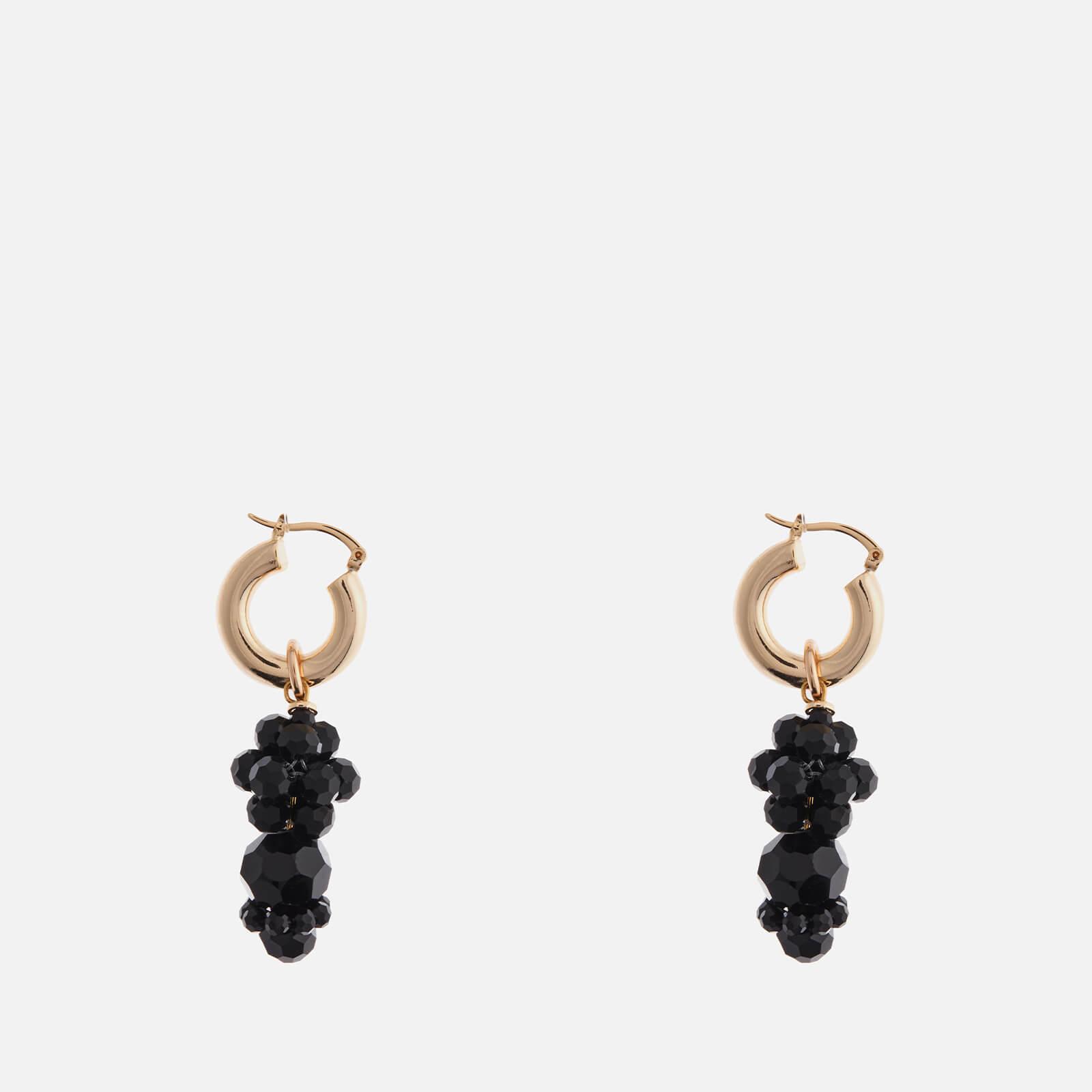 Shrimps Women's Mina Earrings - Gold & Black