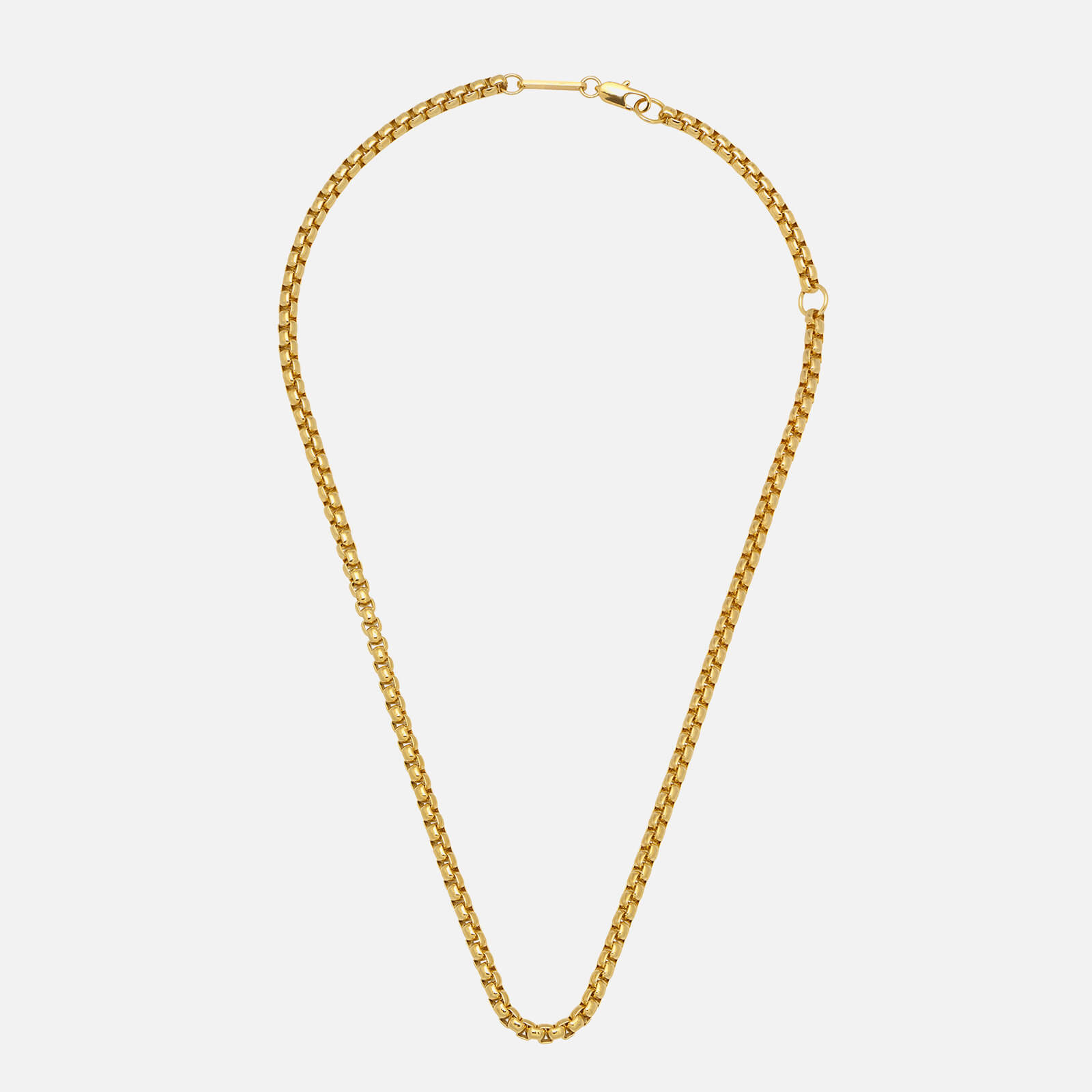 Estella Bartlett Women's Chunky Rounded Box Chain - Gold Plate/Gold Plated
