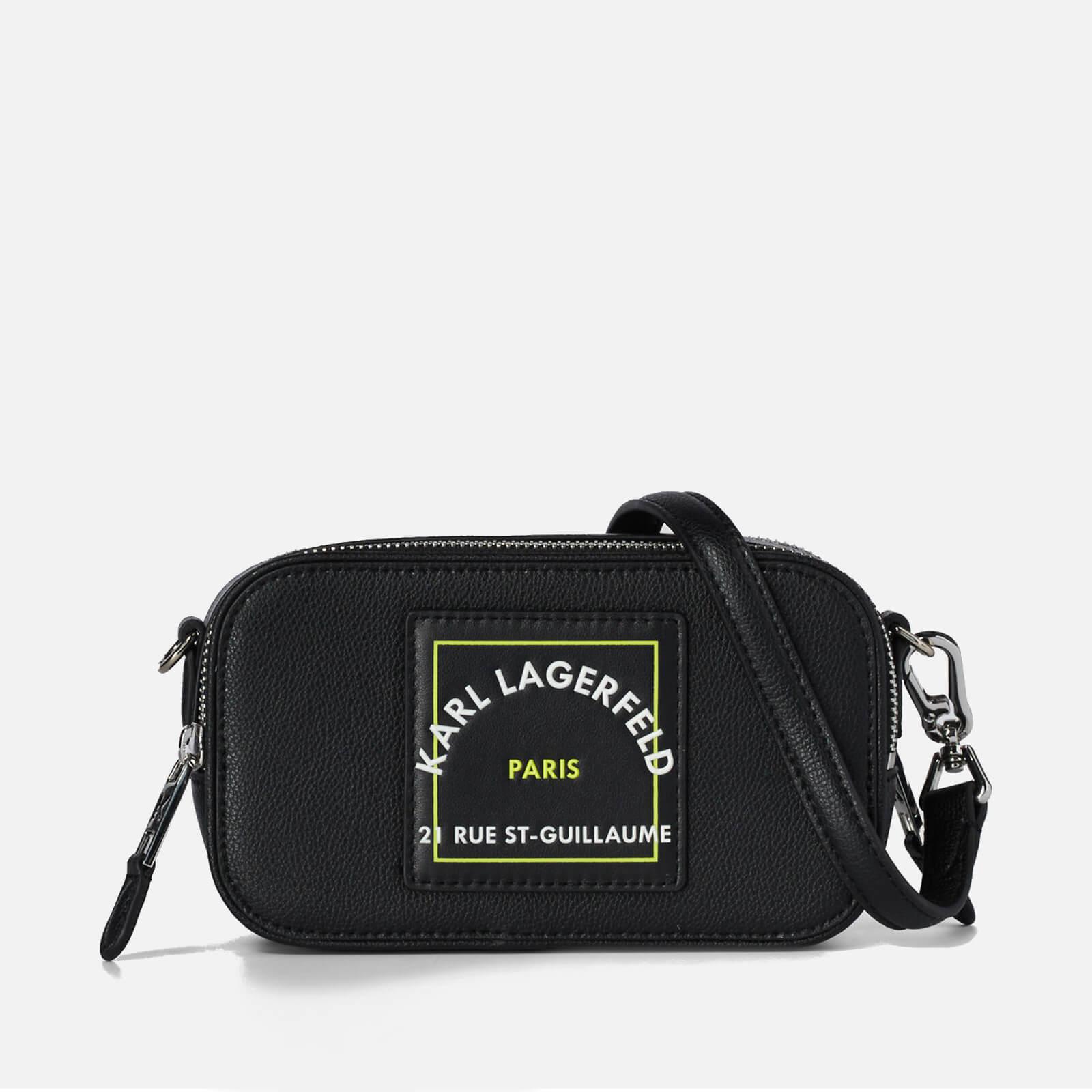KARL LAGERFELD Women's Rsg Patch Camera Bag - Black