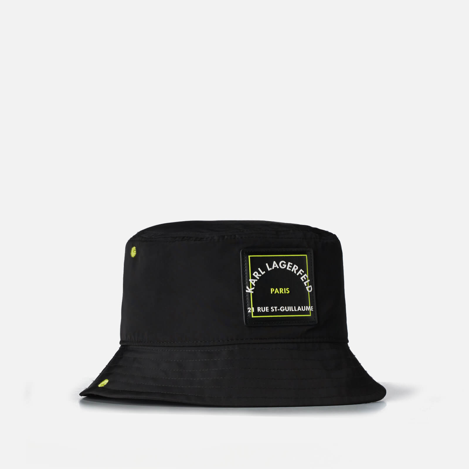 KARL LAGERFELD Women's Rsg Patch Bucket Hat - Black