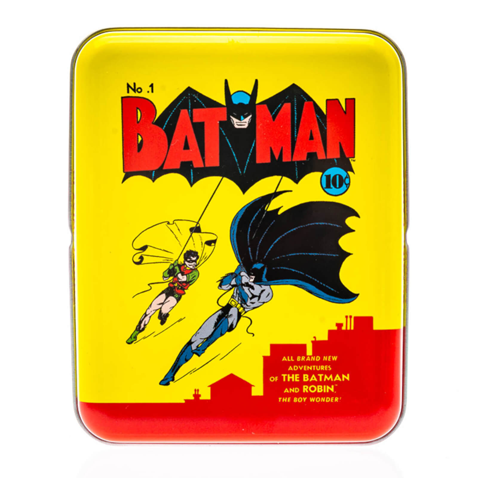 Image of DC Batman Collector Playing Cards & Tin in Yellow