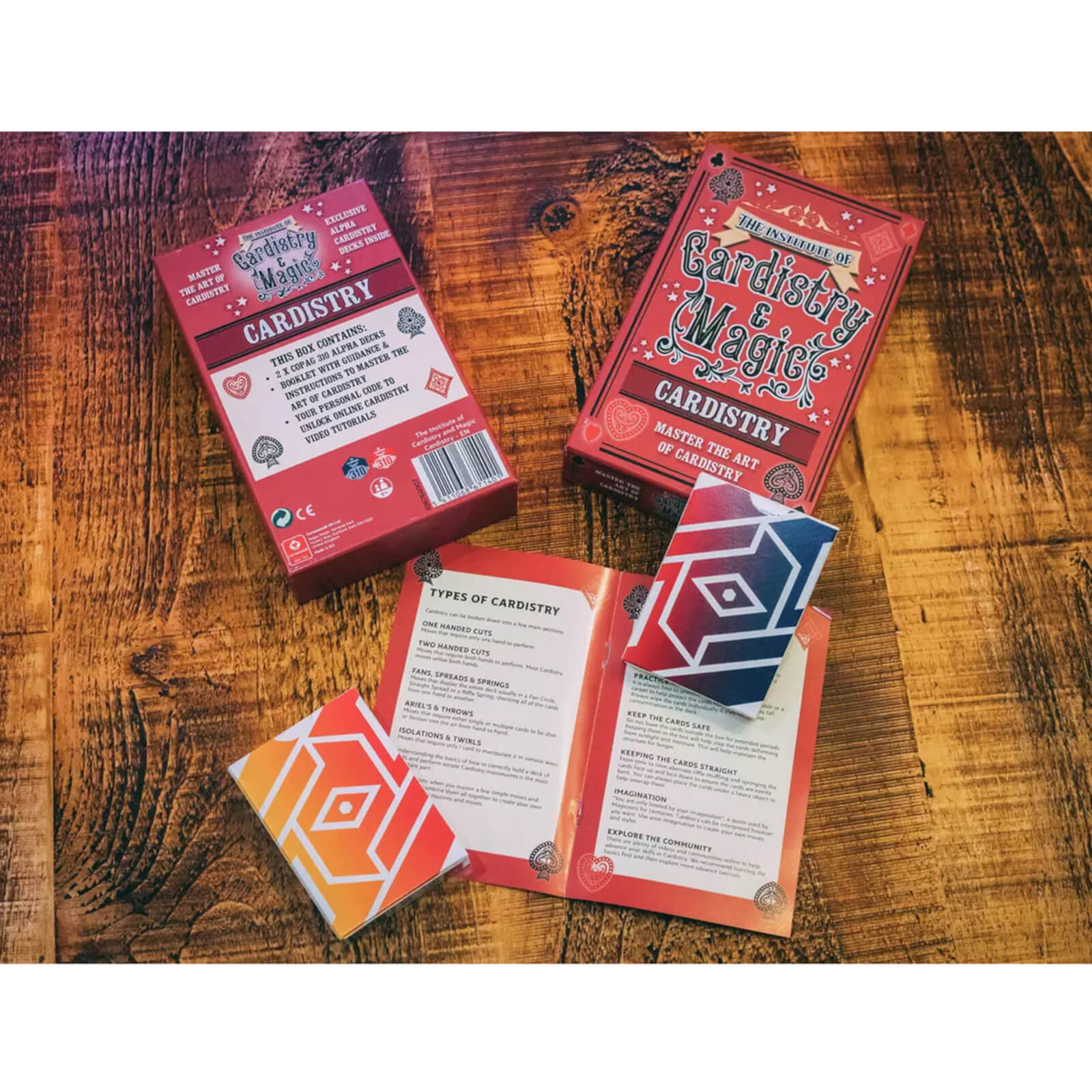 Image of The Institute of Cardistry & Magic - Cardistry
