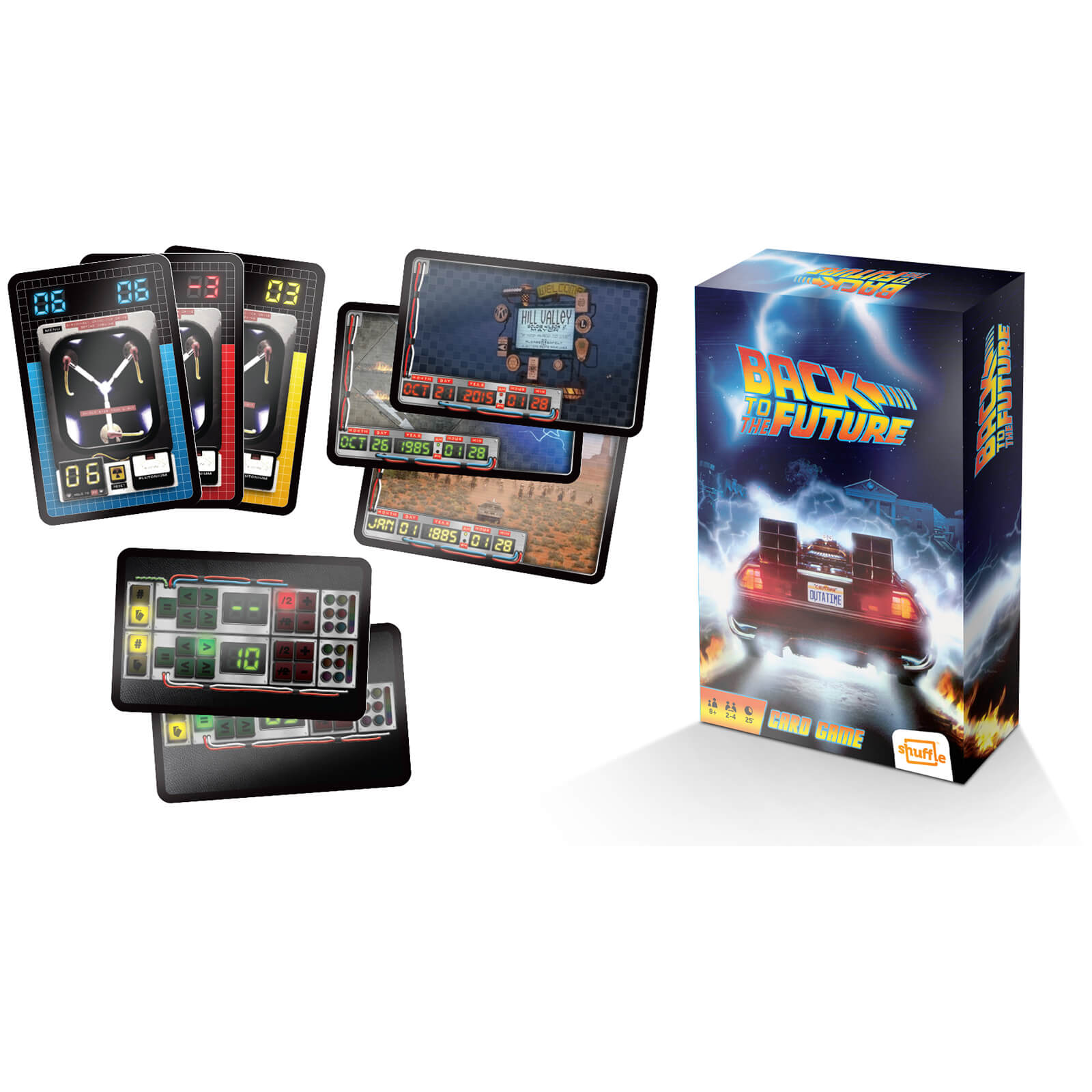 Image of Back to the Future - Retro Card Game