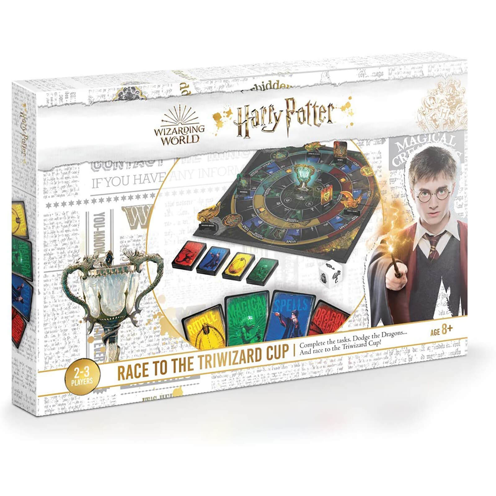 Image of Harry Potter Race to the Triwizard Cup Card Game