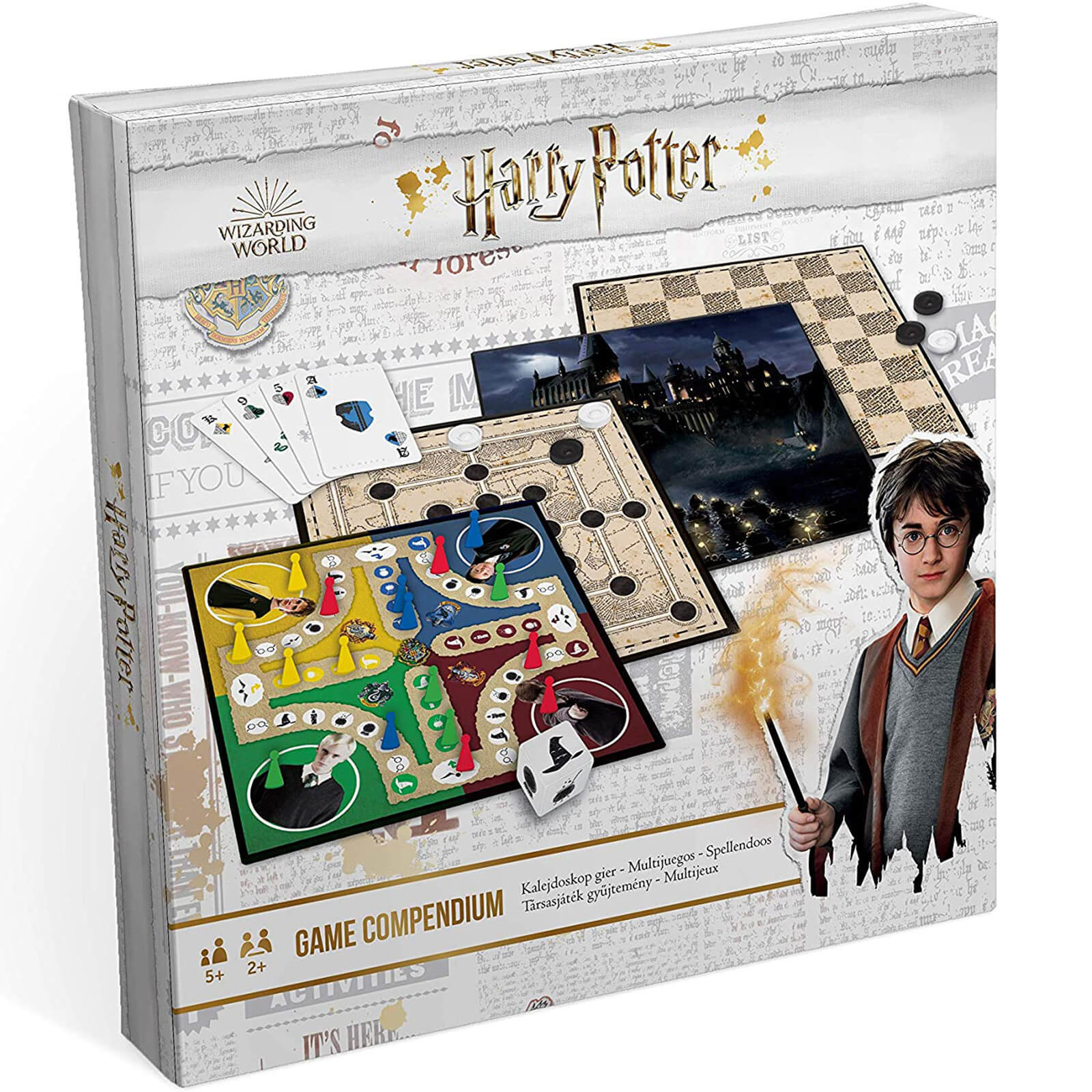 Image of Harry Potter Games Compendium