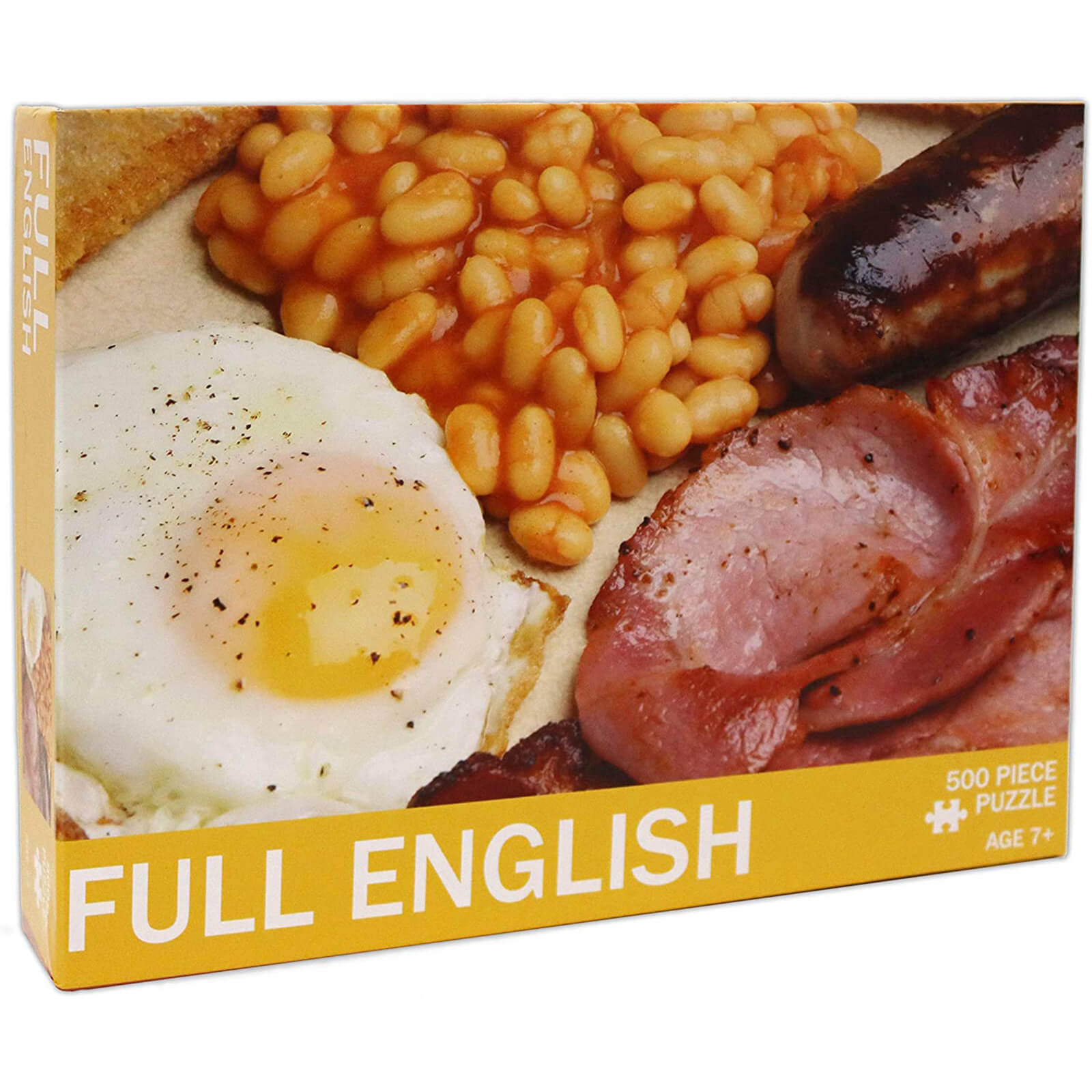 Image of Full English Jigsaw Puzzle (500 Pieces)